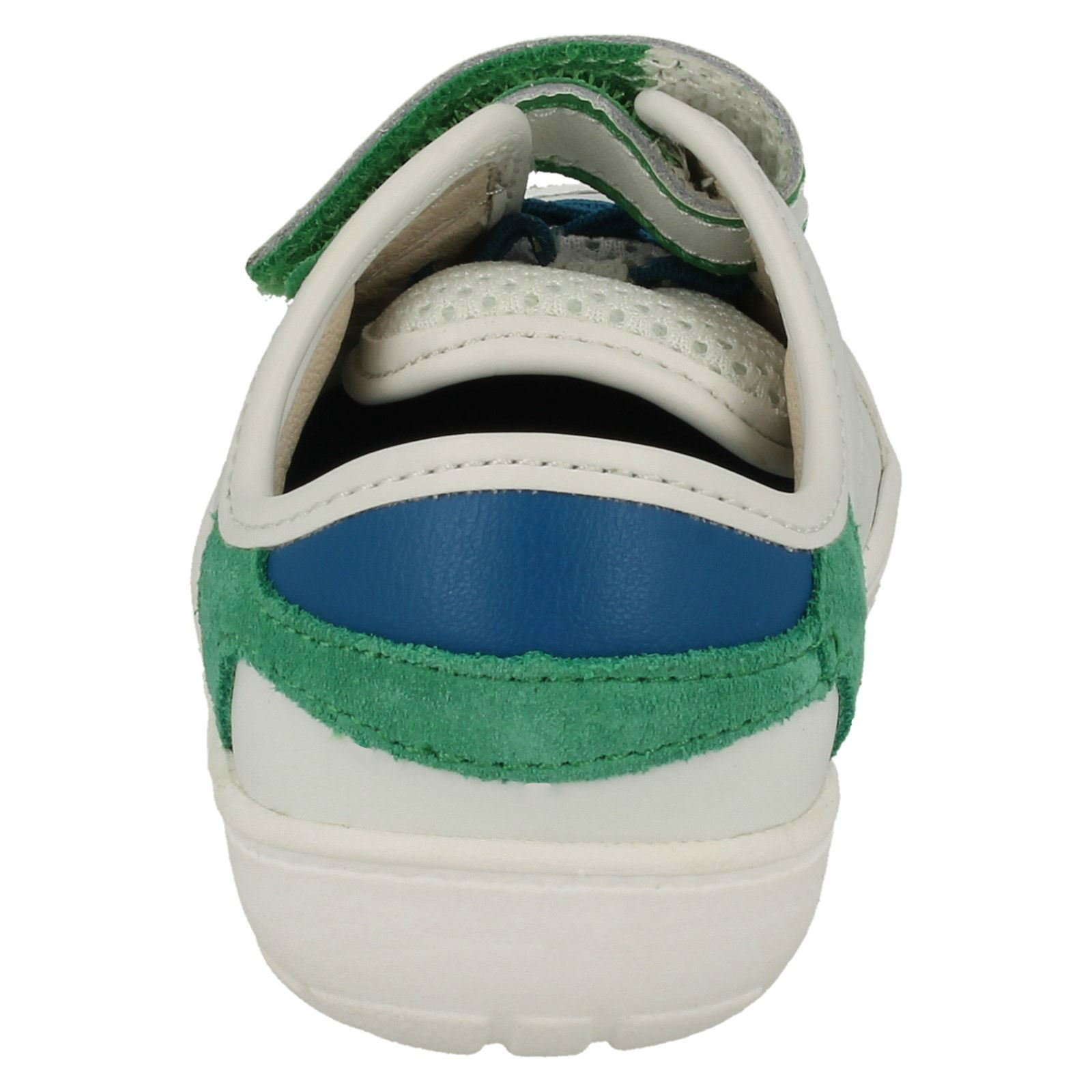 deporte niños Maxi Faux White Lace Clarks Zapatillas Leo de para CAqvwxZ