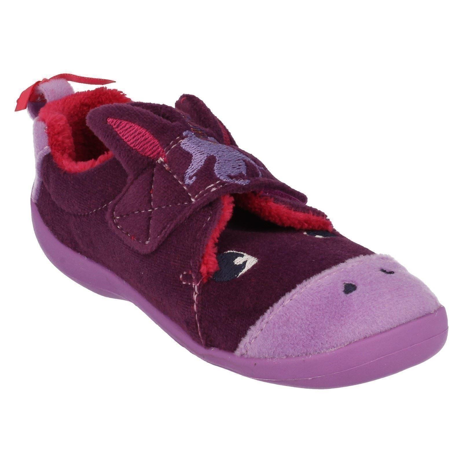 Infant Clarks Girls Slippers Magical Sleep