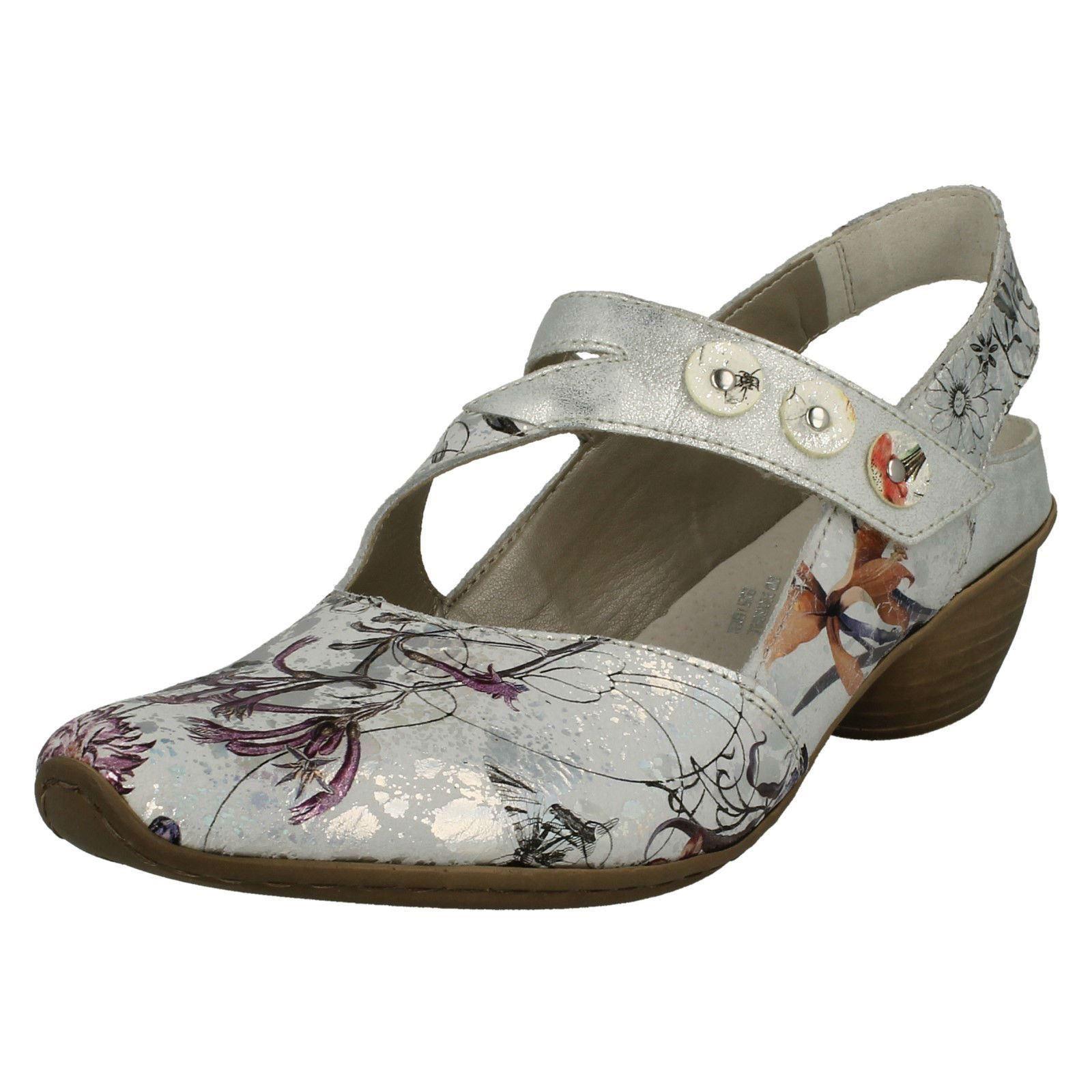 Donna Rieker CON TACCHI scarpa con cinturino sul retro '43771'