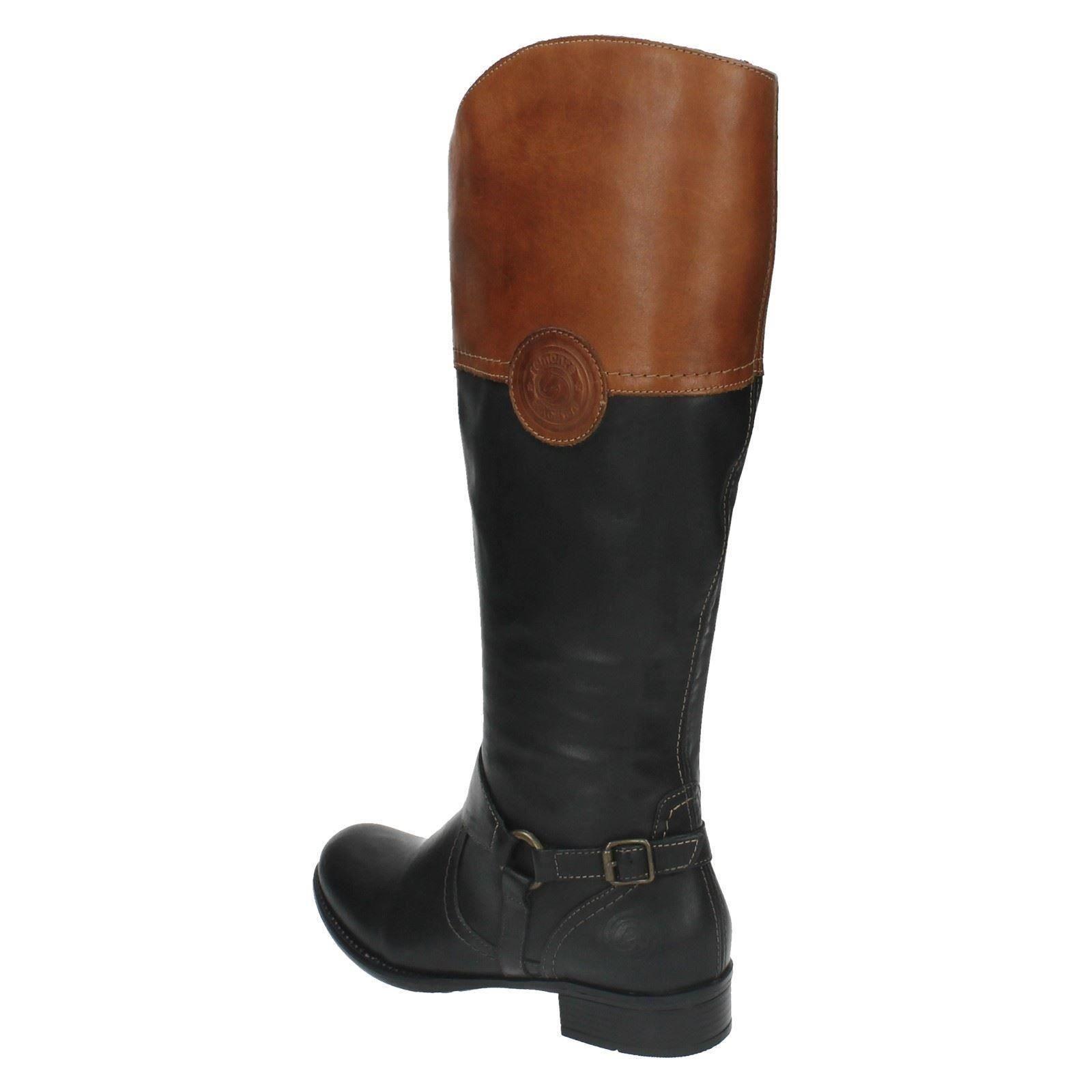 Remonte 'r6474' Combi Black black Boots Ladies Knee High dnSqIdA