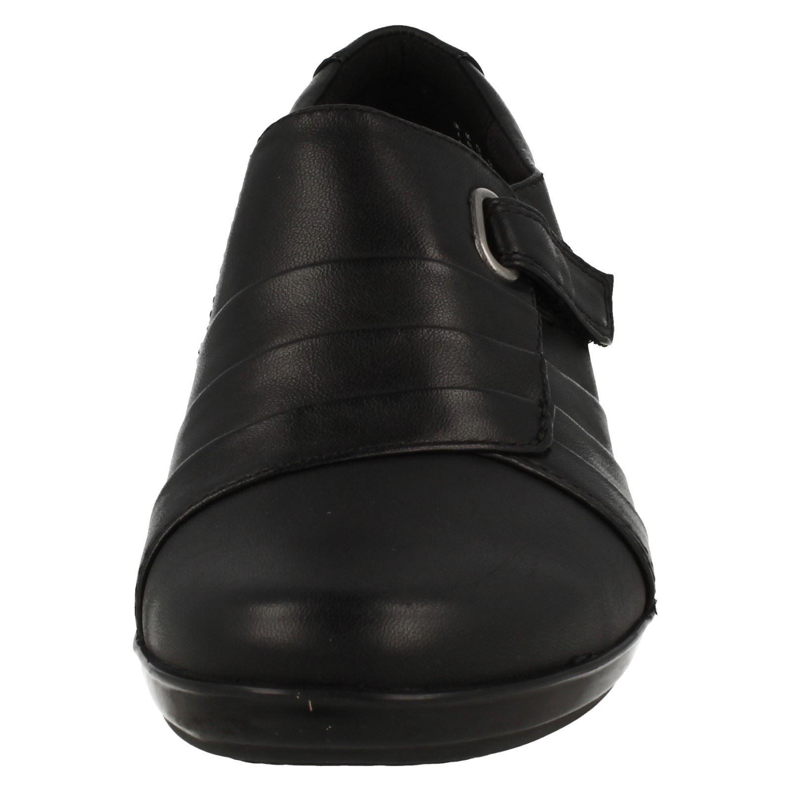 Ladies Clarks Hook And Loop Smart shoes Everlay Everlay Everlay Luna 55072d
