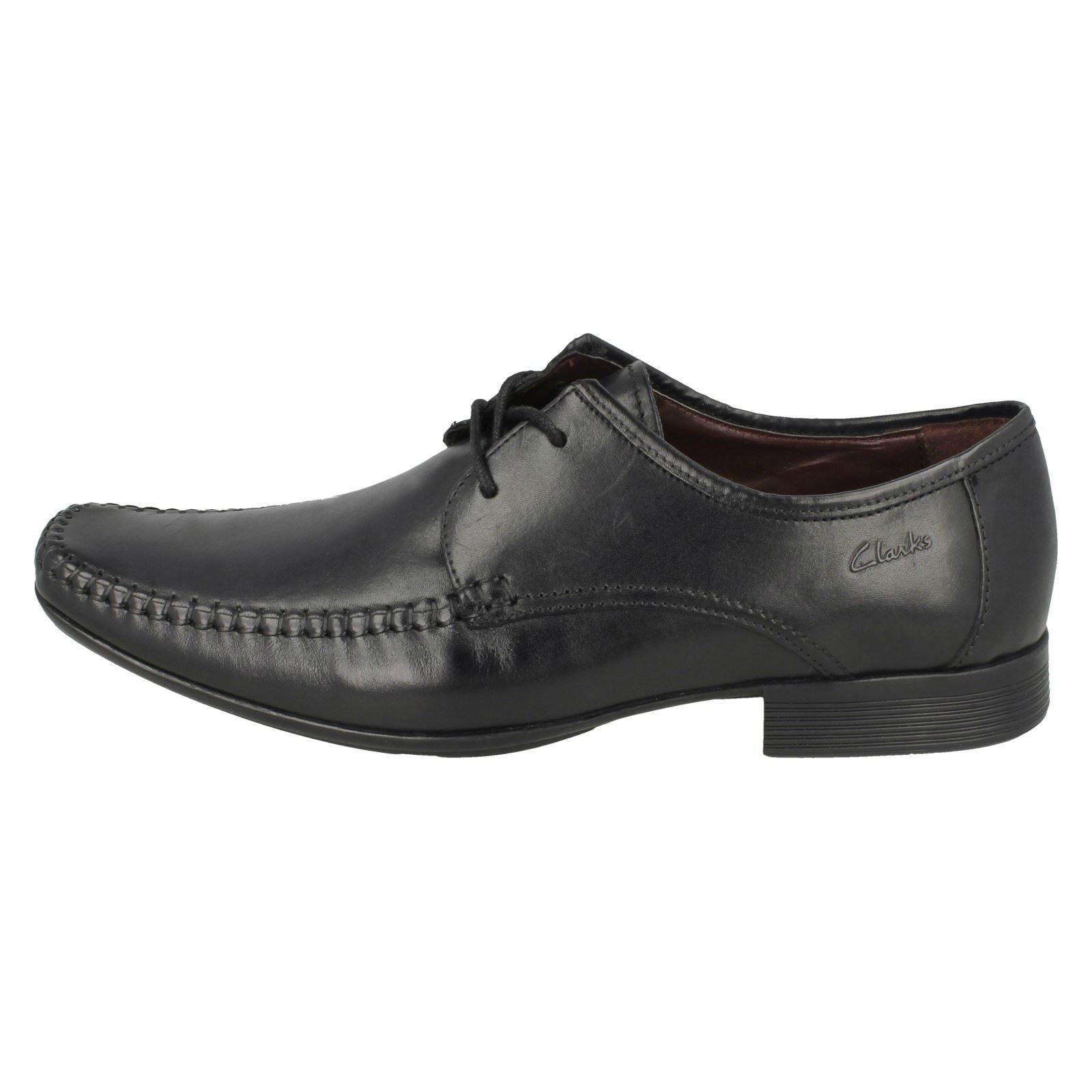 con negros cordones formales para Ferro Zapatos Clarks hombre Walk wqx86BSY