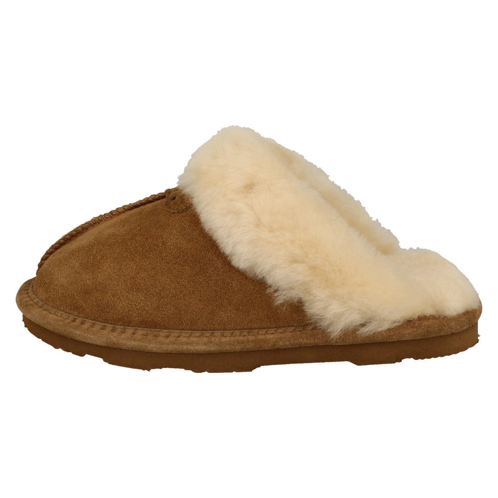 Lined Ii Hickory Mule Comfort Slip Leather Loki Bear Paw Brown Ladies Tøfler On gxvUnn