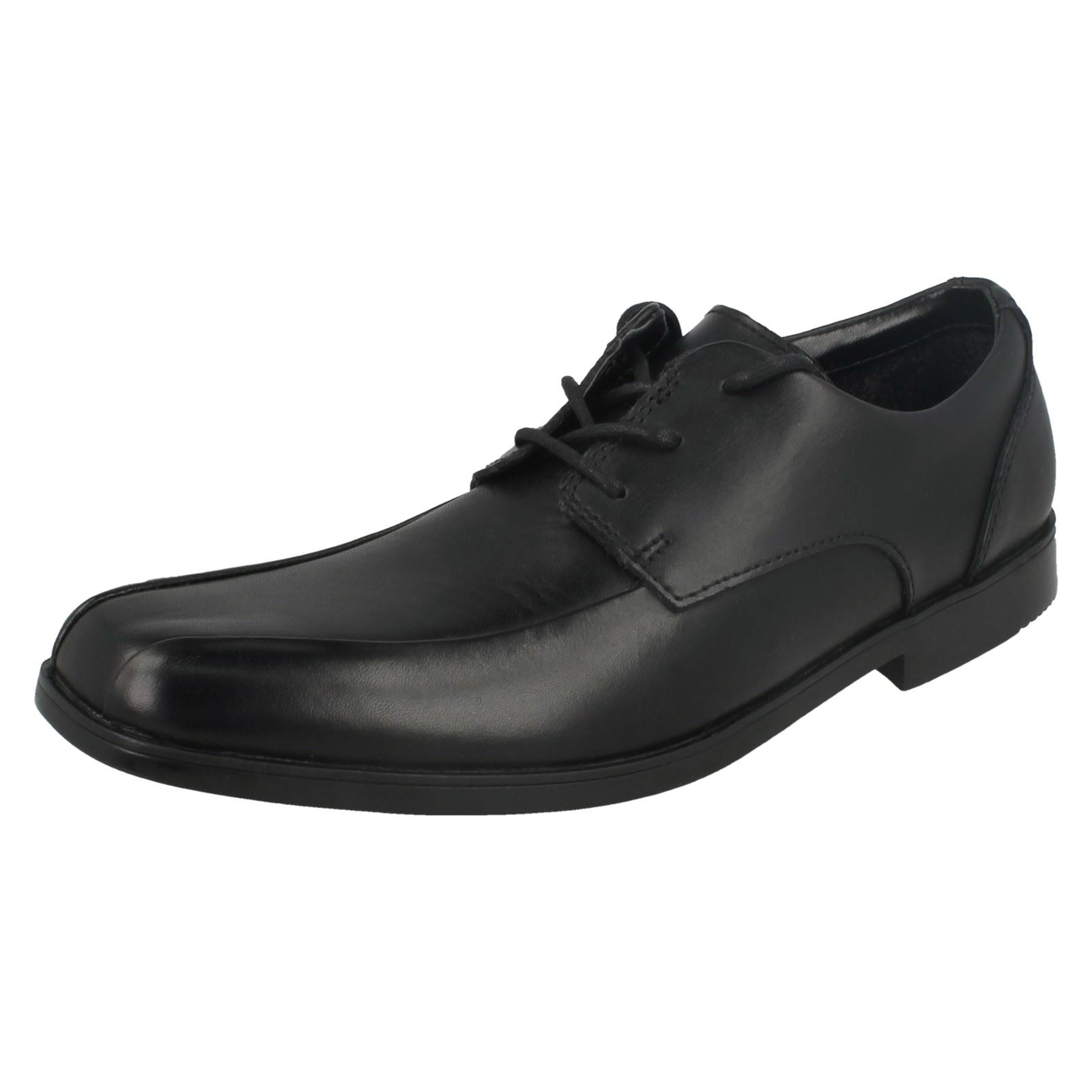 Chap Clarks Black School niño Hoxton Up pirata By para Lace Chaqueta qwE40xO