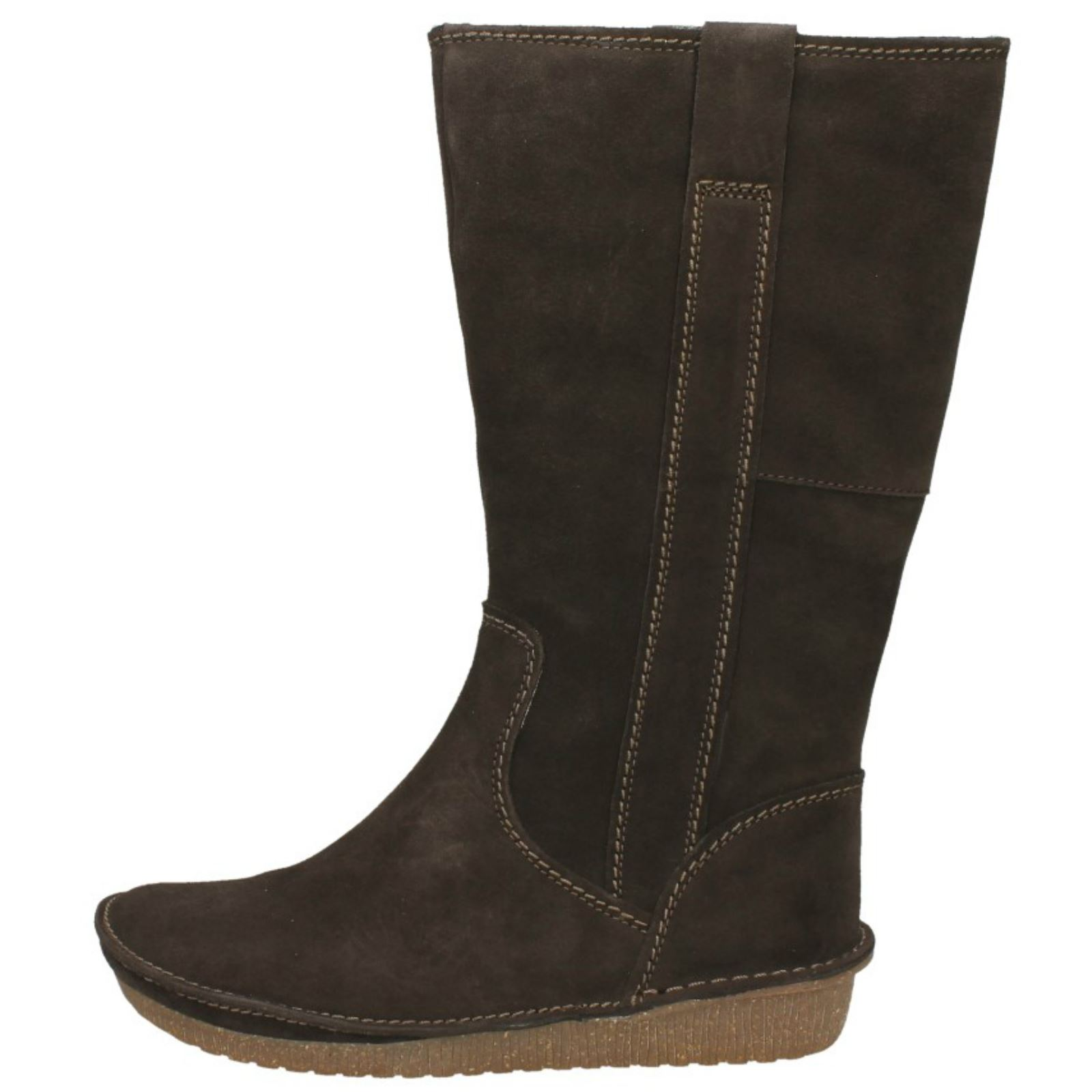 Ladies Clarks Warm Lined Lined Lined Long Boots Lima Rhapsody 4e1a59