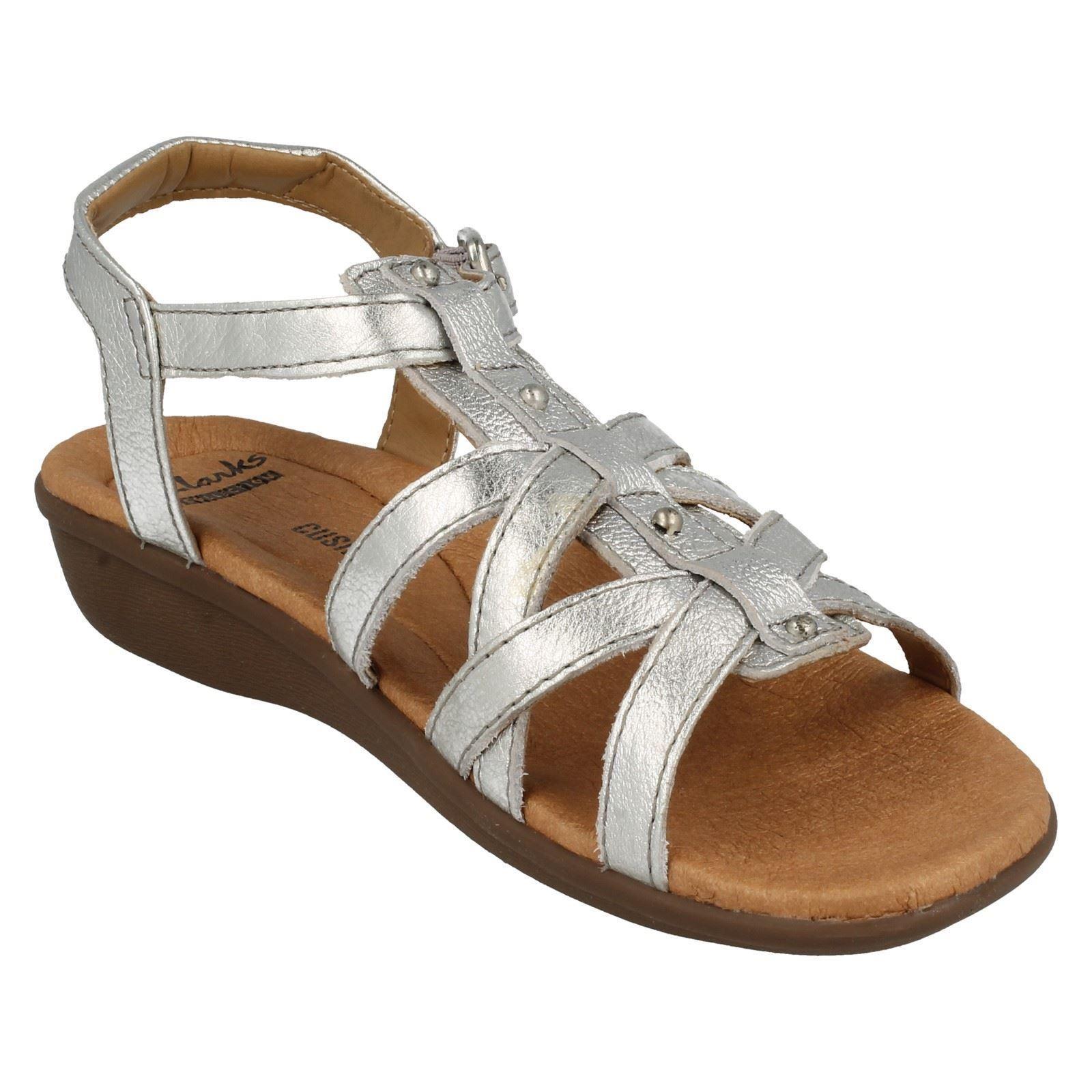 99580feea9de Ladies Clarks Manilla Bonita Leather Casual Sandals D Fitting UK 5.5 ...