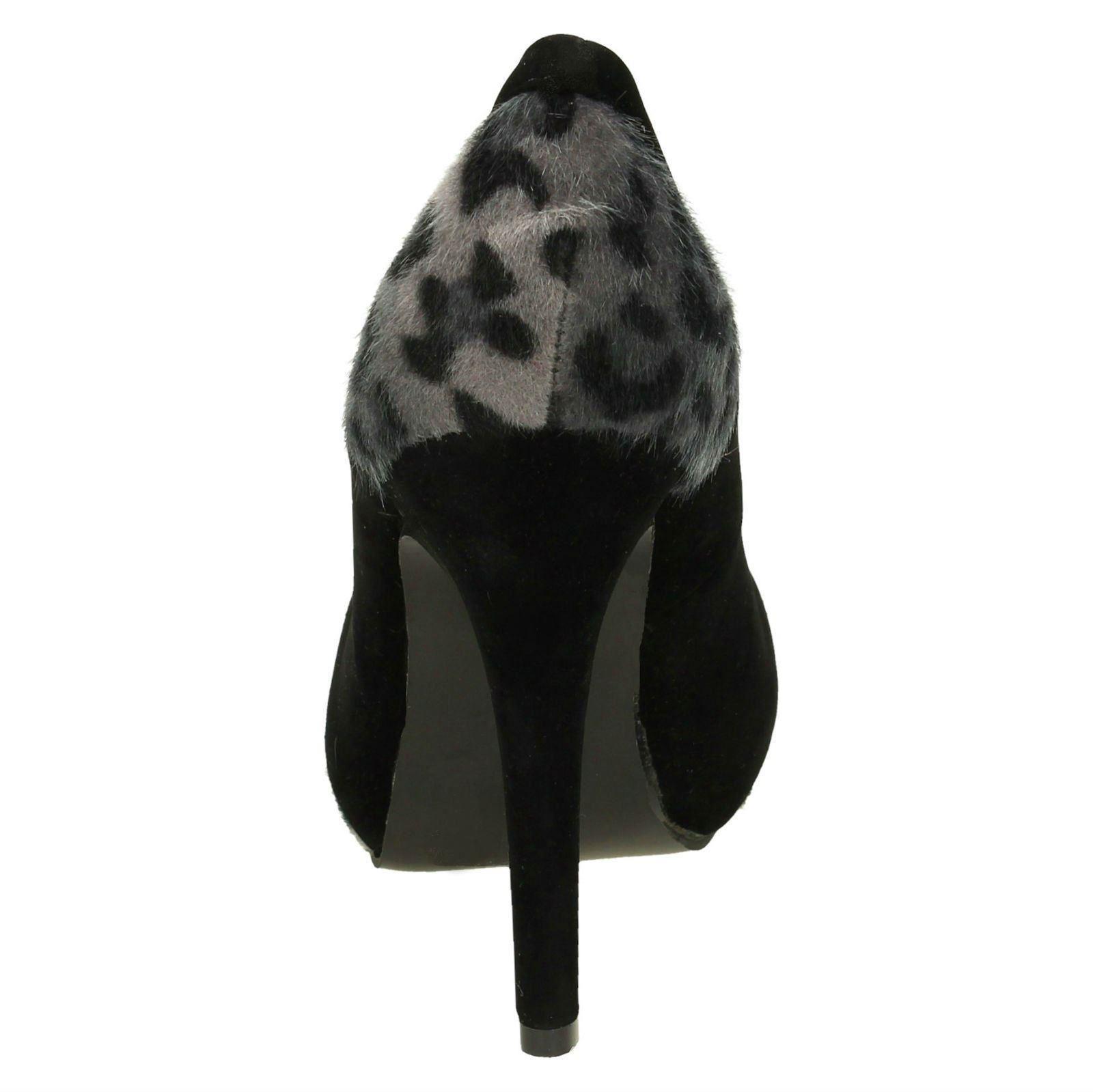 Damas Spot on resbalón en el Tribunal Zapatos De Gamuza