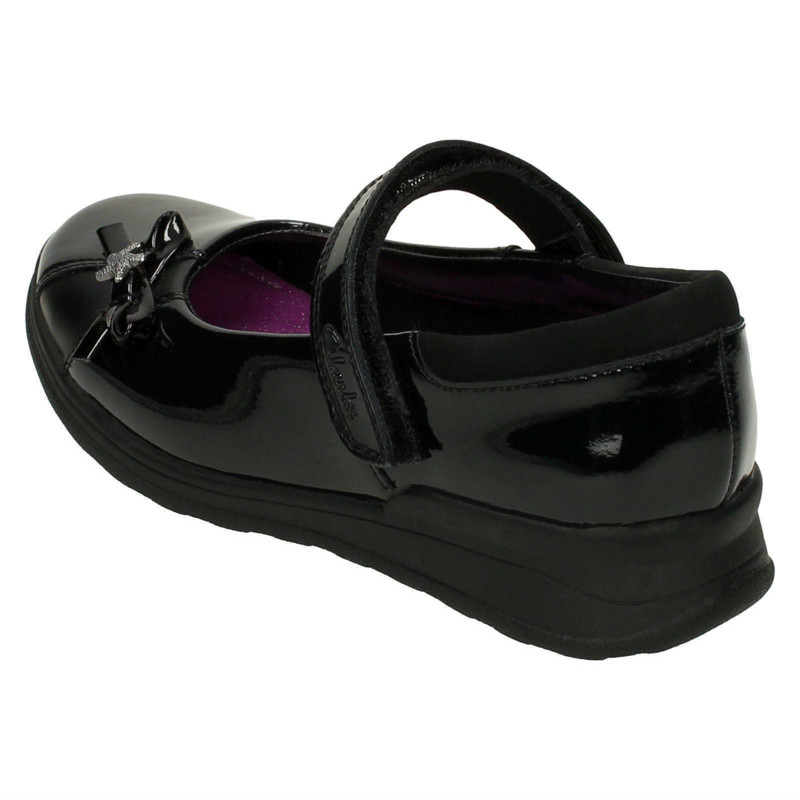 Girls Gloforms By Clarks School Shoes Mariel Wish Jnr