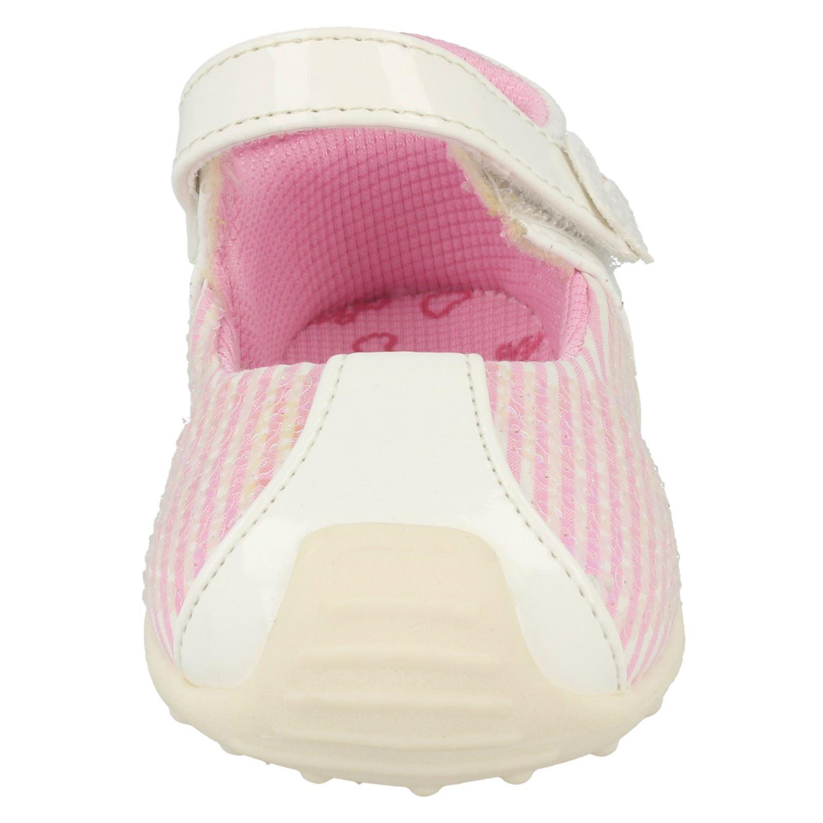 Infantil Chicas Cutie Detalle De Lentejuelas Zapatos Planos