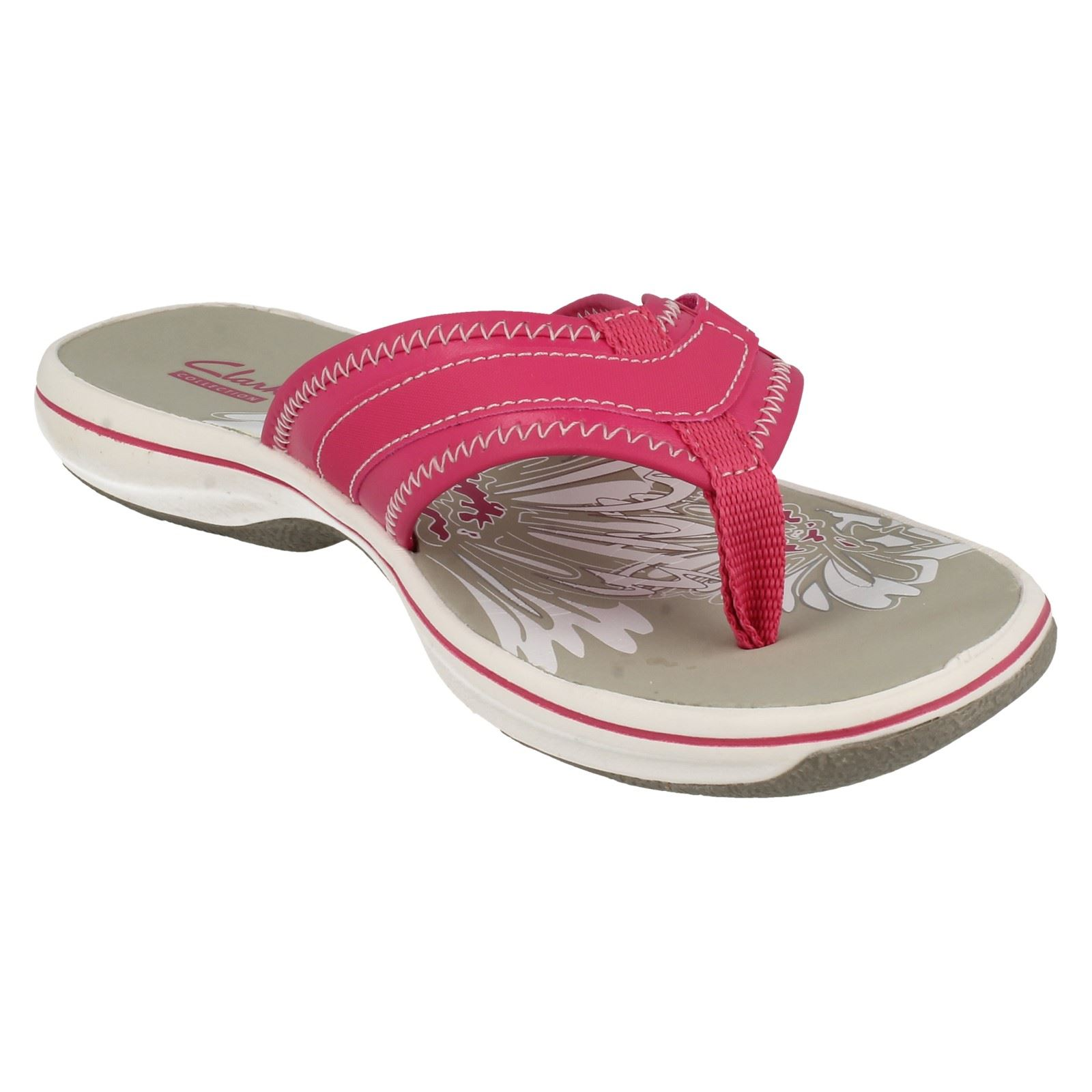 d7e8cfc7c Ladies-Clarks-Brinkley-Mila-Toe-Post-Sandals thumbnail 8