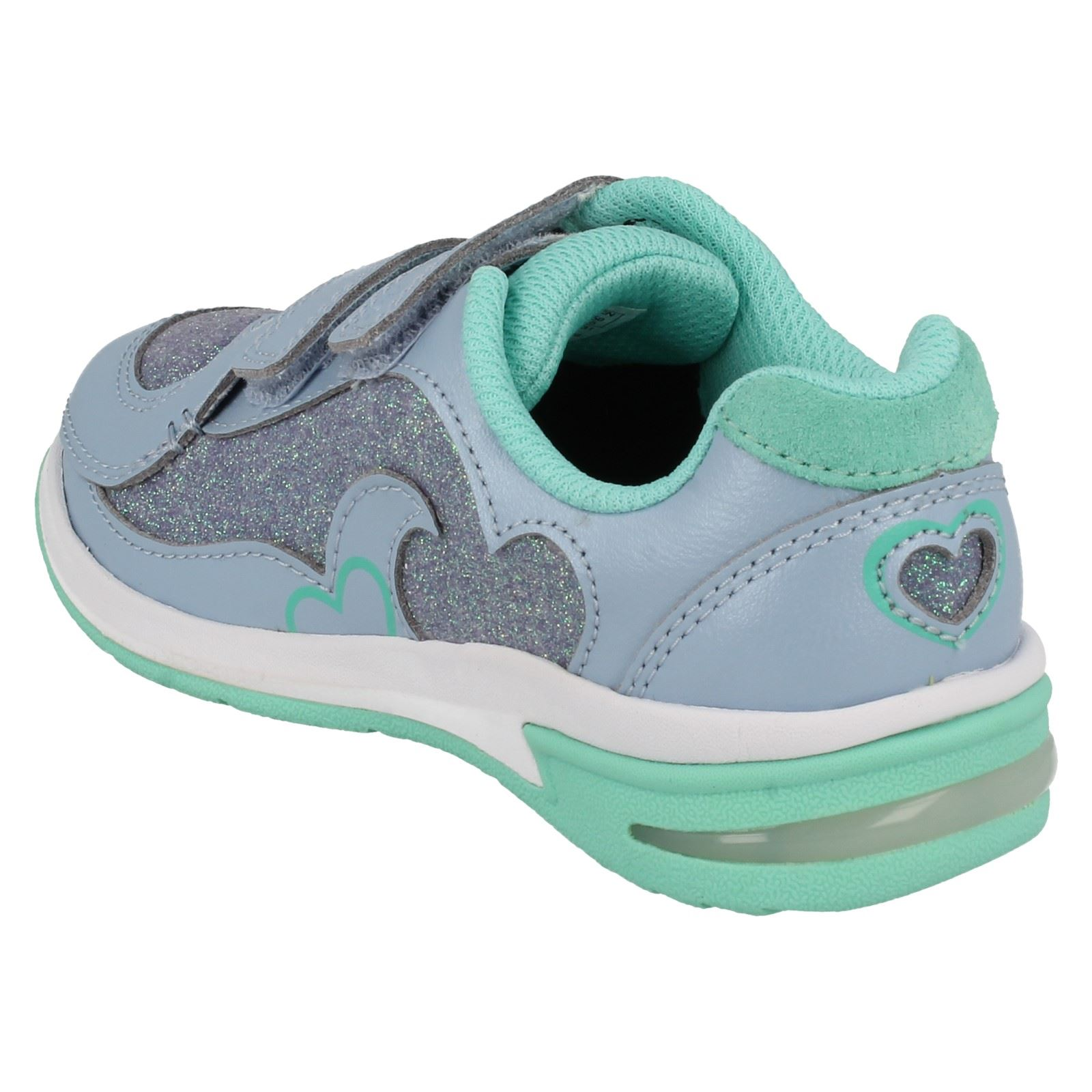 clarks girls trainers