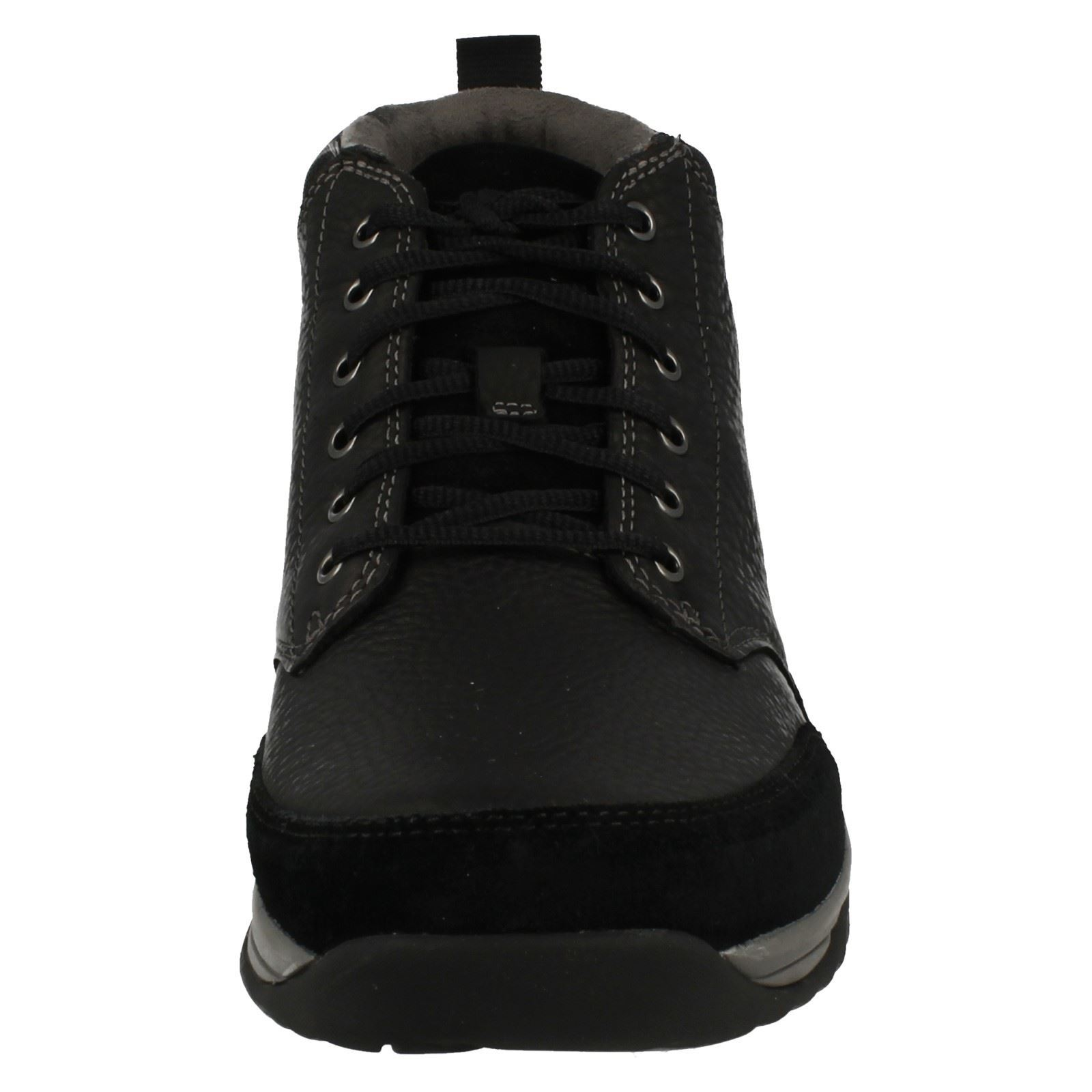 Mens Clarks Goretex Baystone Leather Waterproof Lace Up Boots - Baystone Goretex Top GTX 897cfa