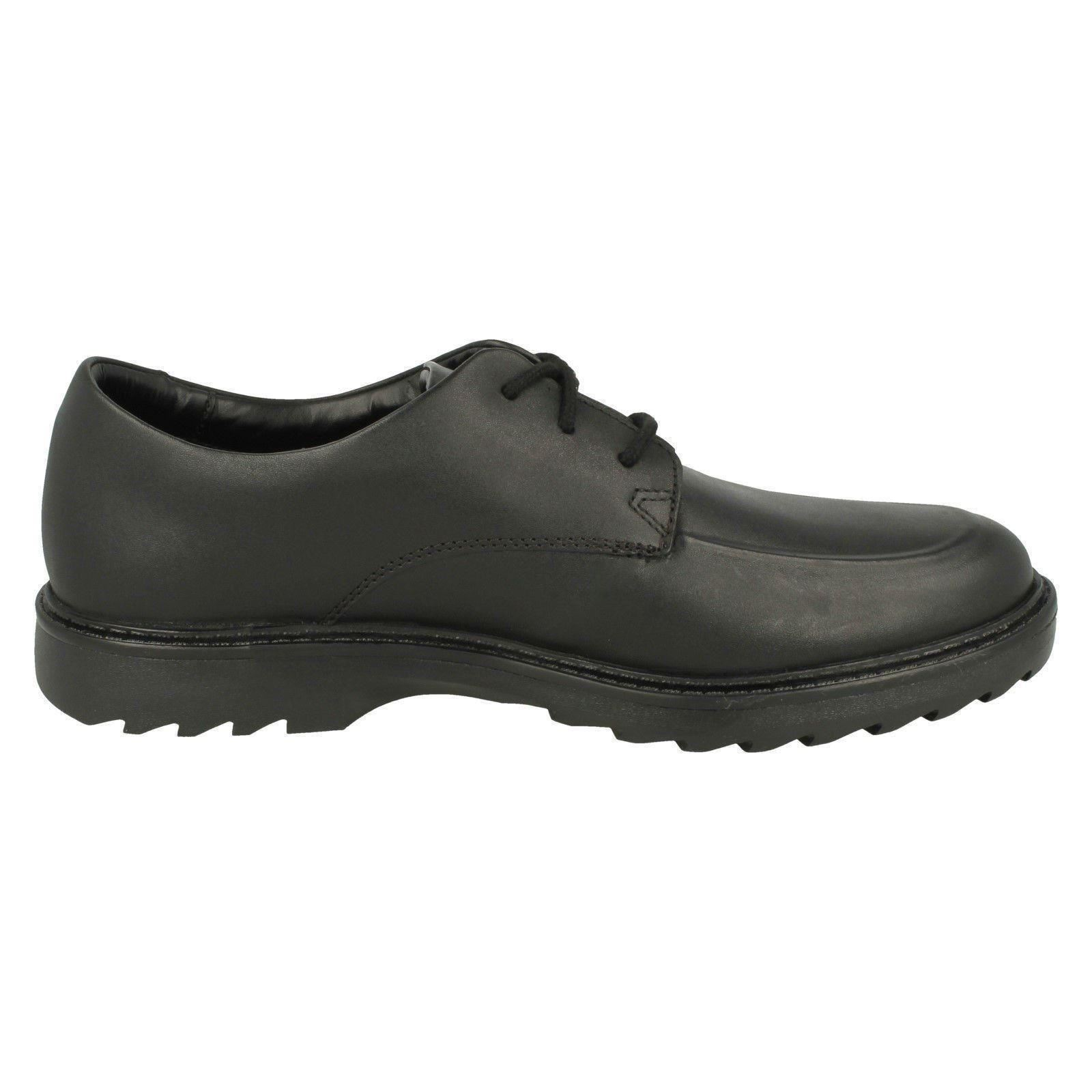 de con negros niño 'asher cordones formales Clarks Zapatos Clarks Grove' qaxZ1wBCC
