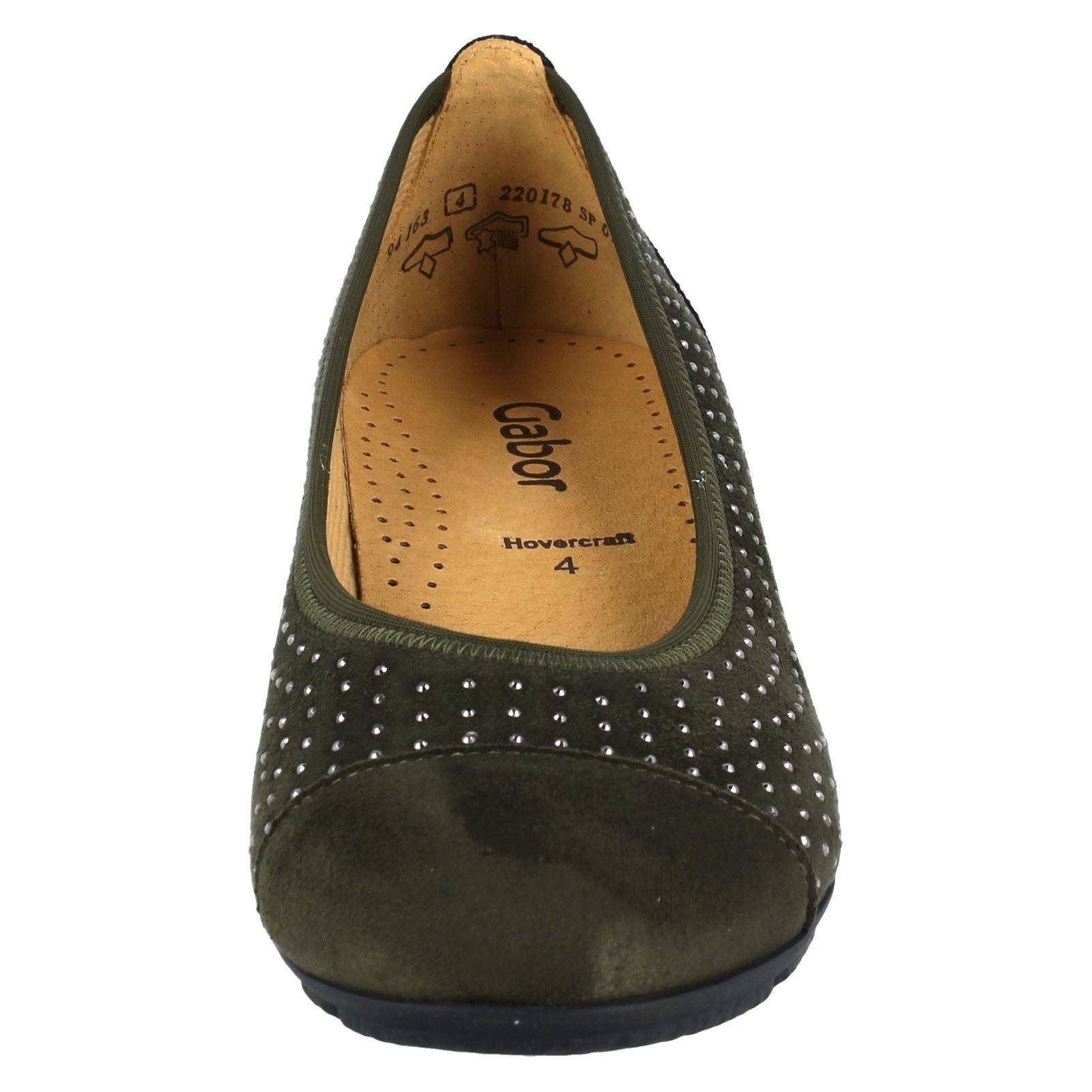 Gabor 94163 Shoes Ladies verde Oliv qPTnfCAwR