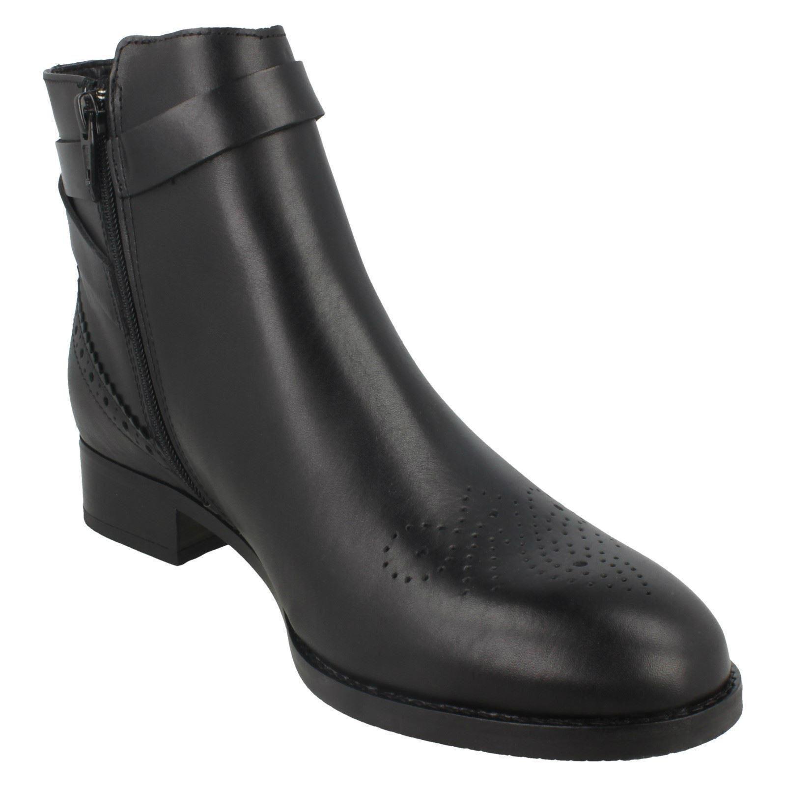 Ladies Clarks Smart Ankle Boots - - - Netley Olivia 928829
