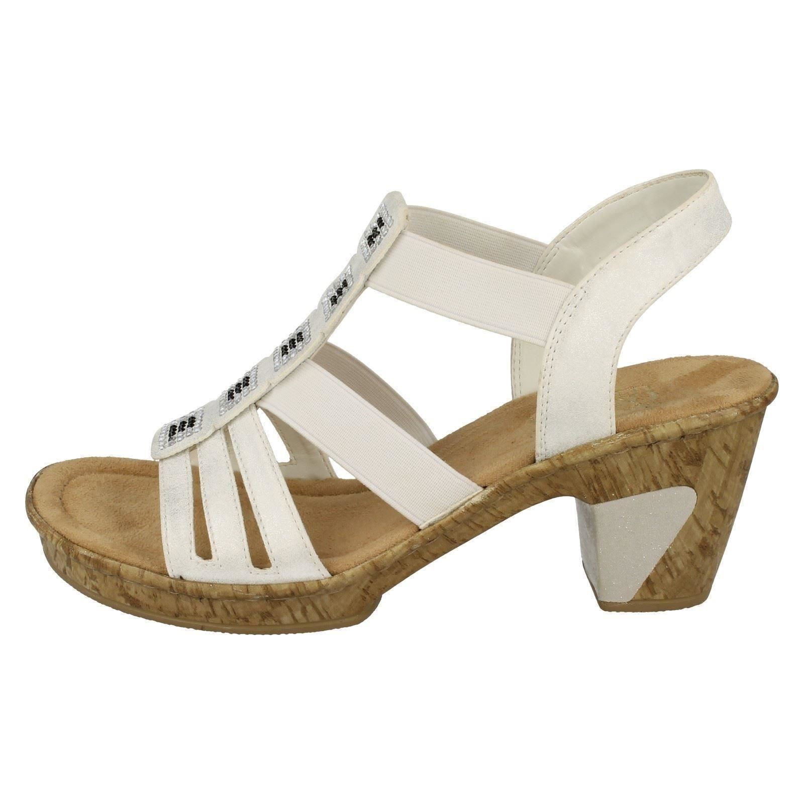 6f9e62fc81a76 Ladies-Rieker-Heeled-Sandals-039-69761-039 thumbnail 3