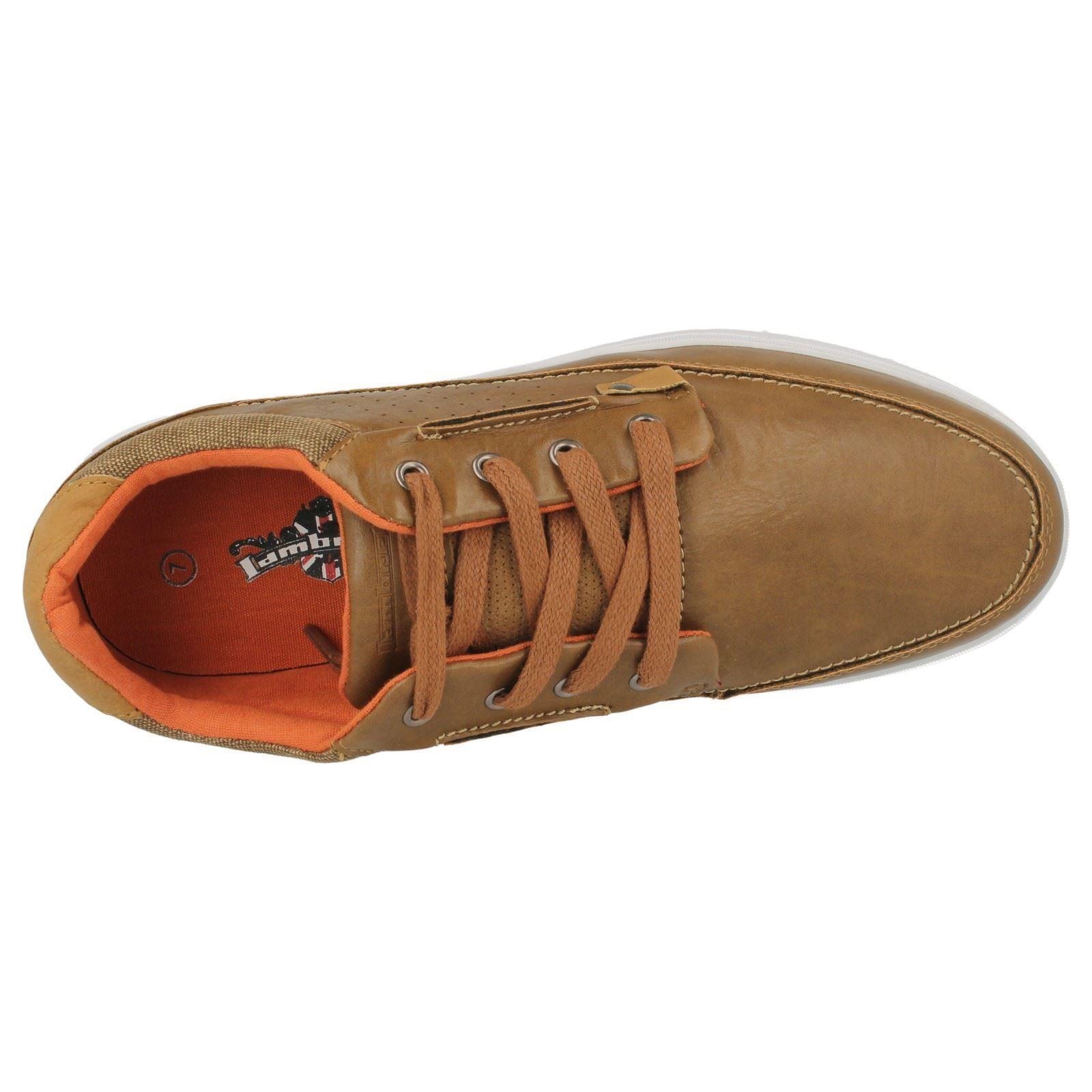 Hommes 'spoons Brown Lambretta Chaussures Casual Lo' qtFqwxX8r