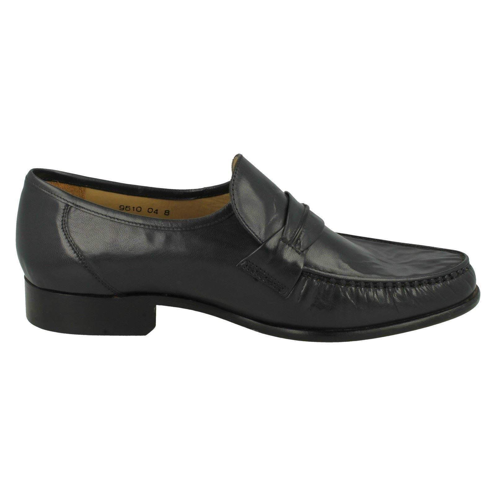 Mens Thomas Blunt Formal Slip On Shoes Boston