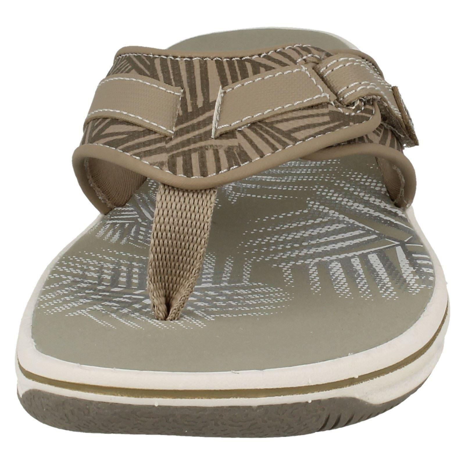 Sandalias de verano señoras Clarks Toe Post Brinkley Quade