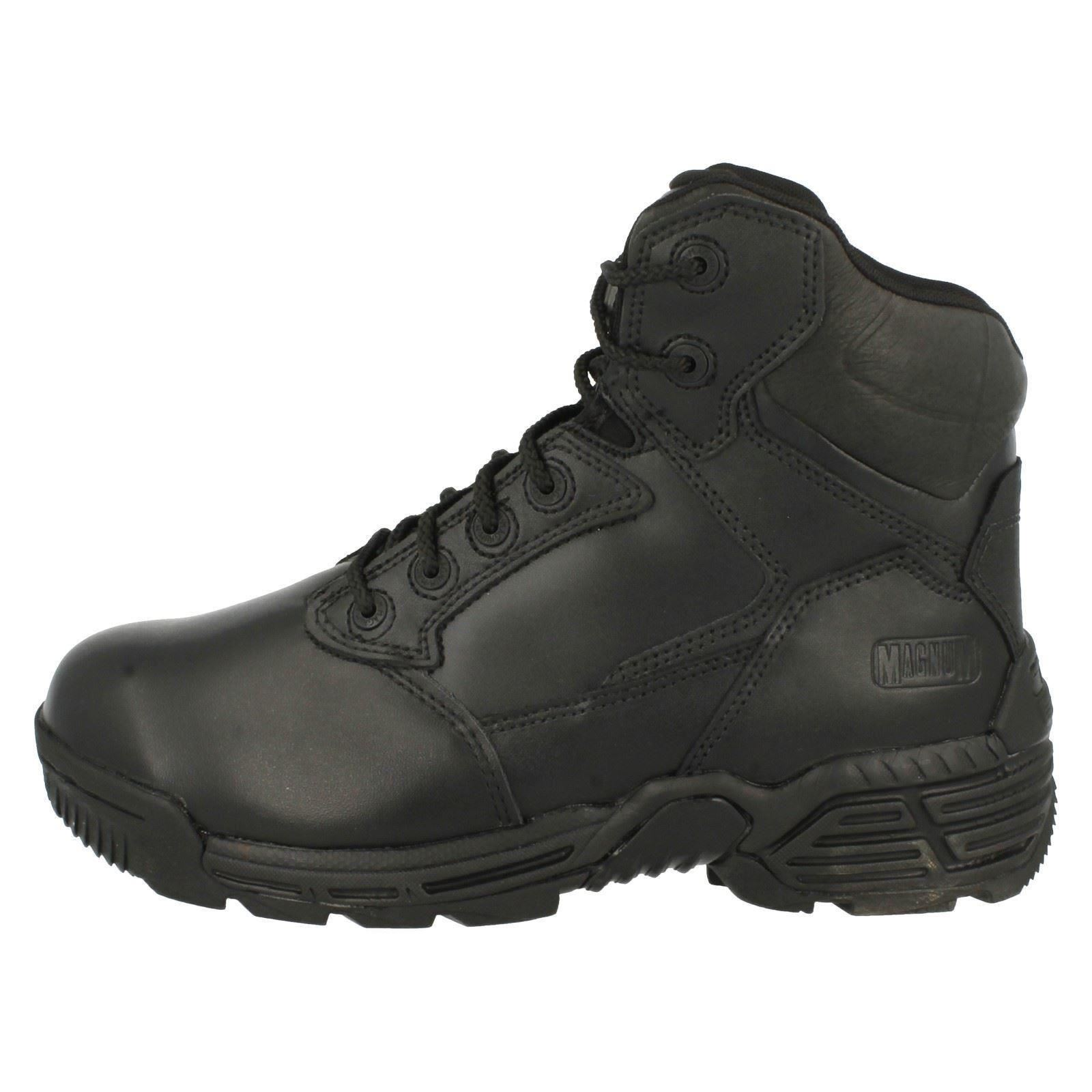 Magnum Stealth lavoro neri Mens Force Up Stivali Lace da d5101qwv