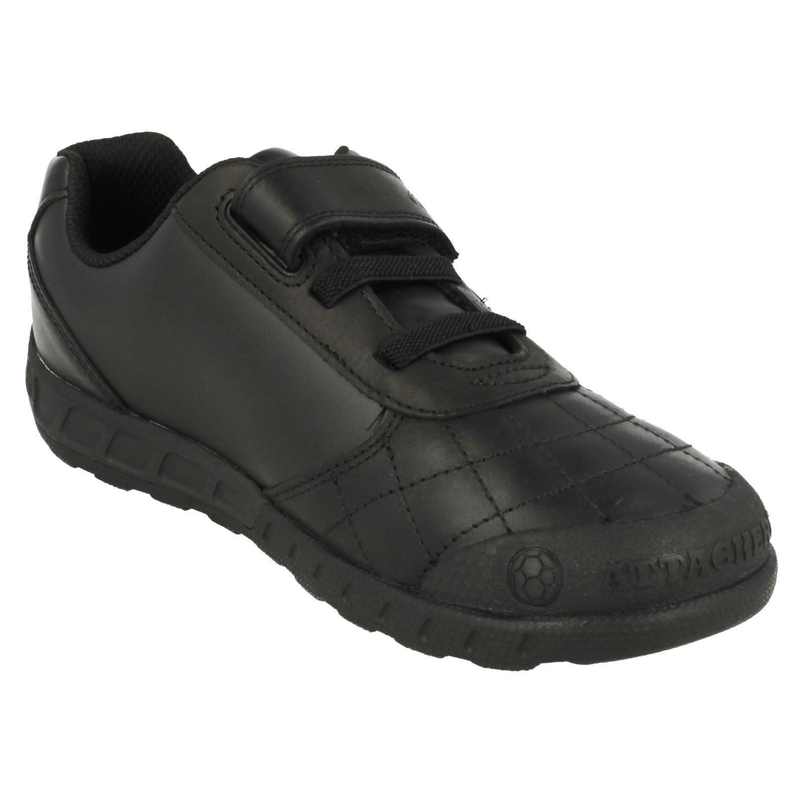 infant junior boys clarks school shoes with football