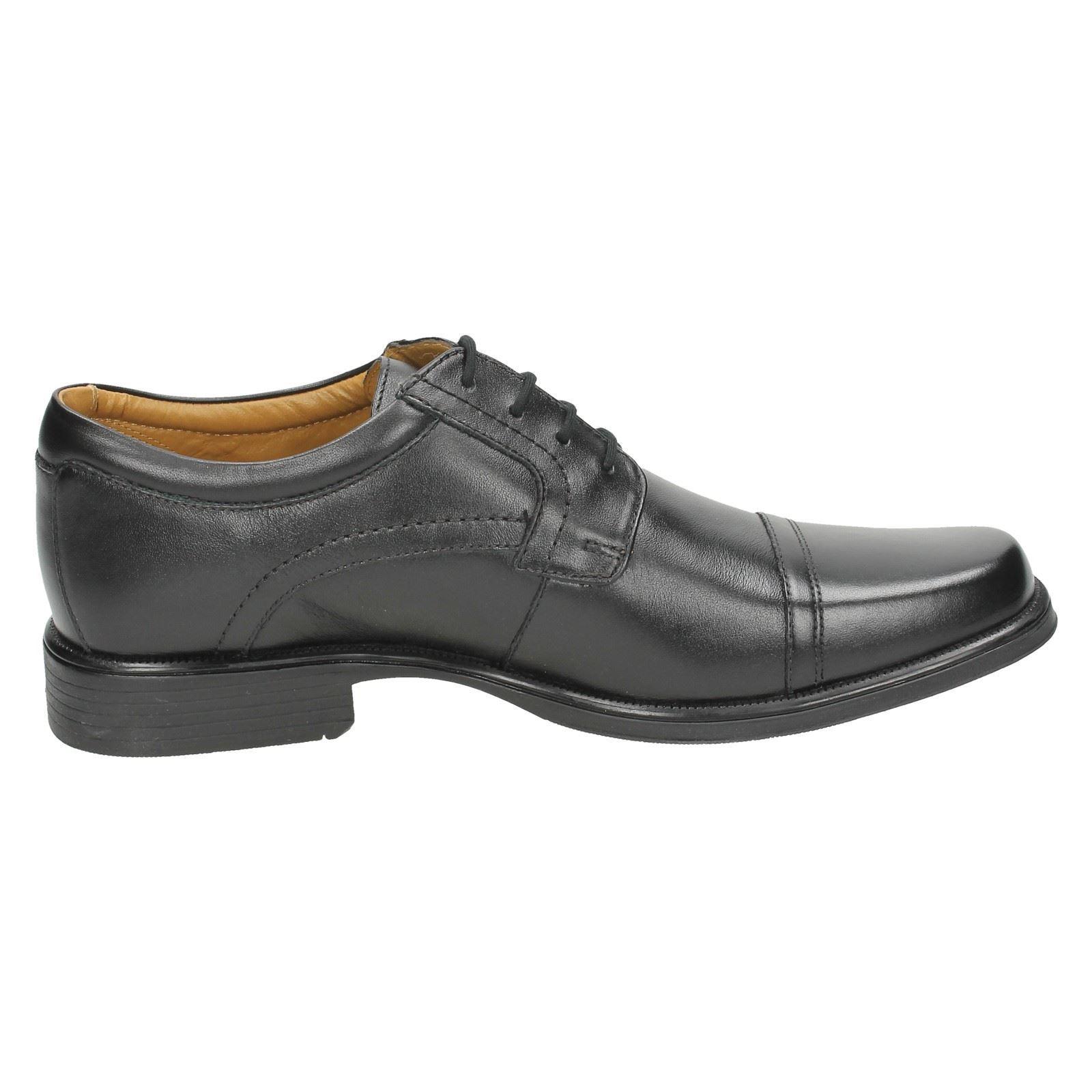 Mens Clarks Smart Lace Up Shoes /'Handle Cap/'