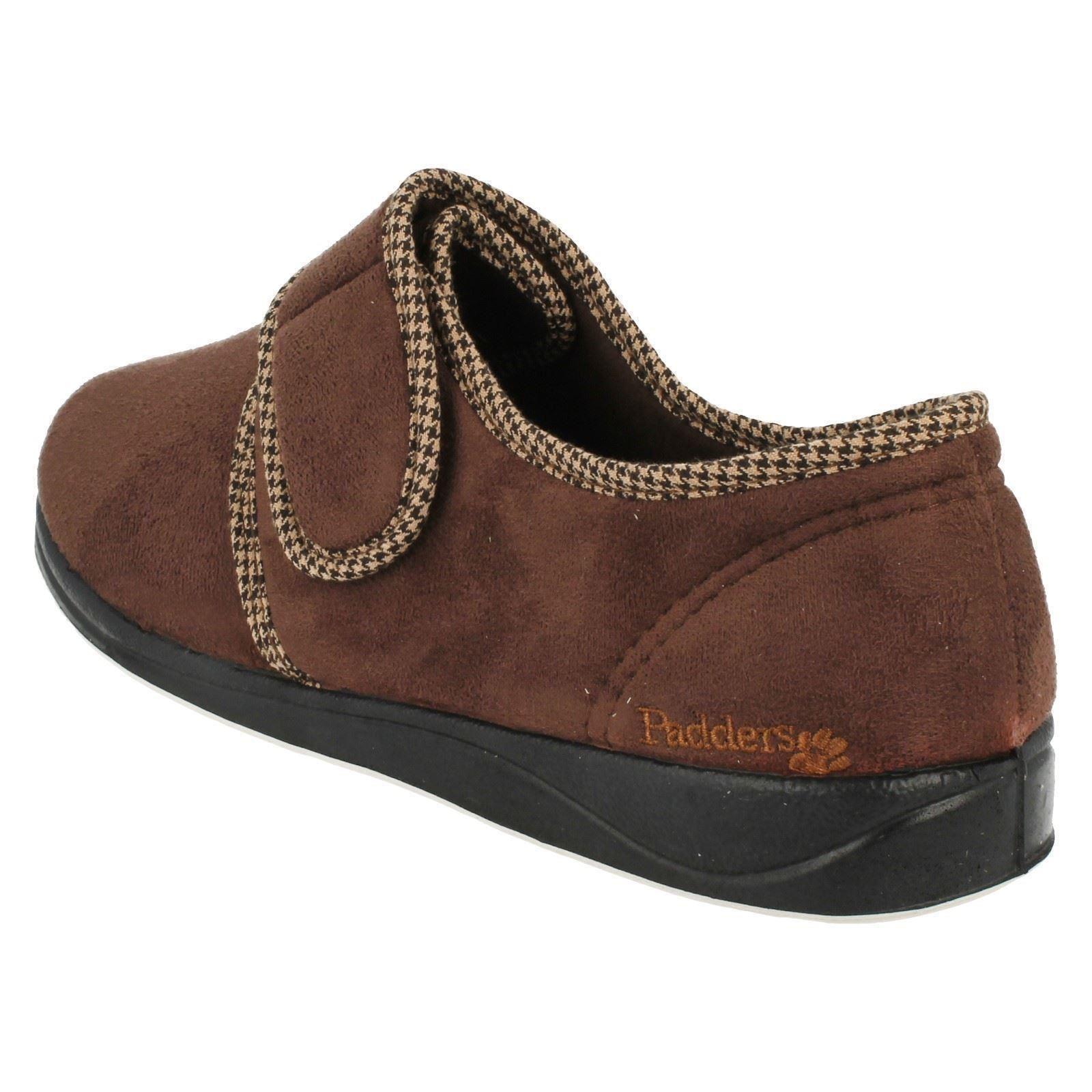 Para Hombre Padders Memory Foam Comfort Zapatillas Harry