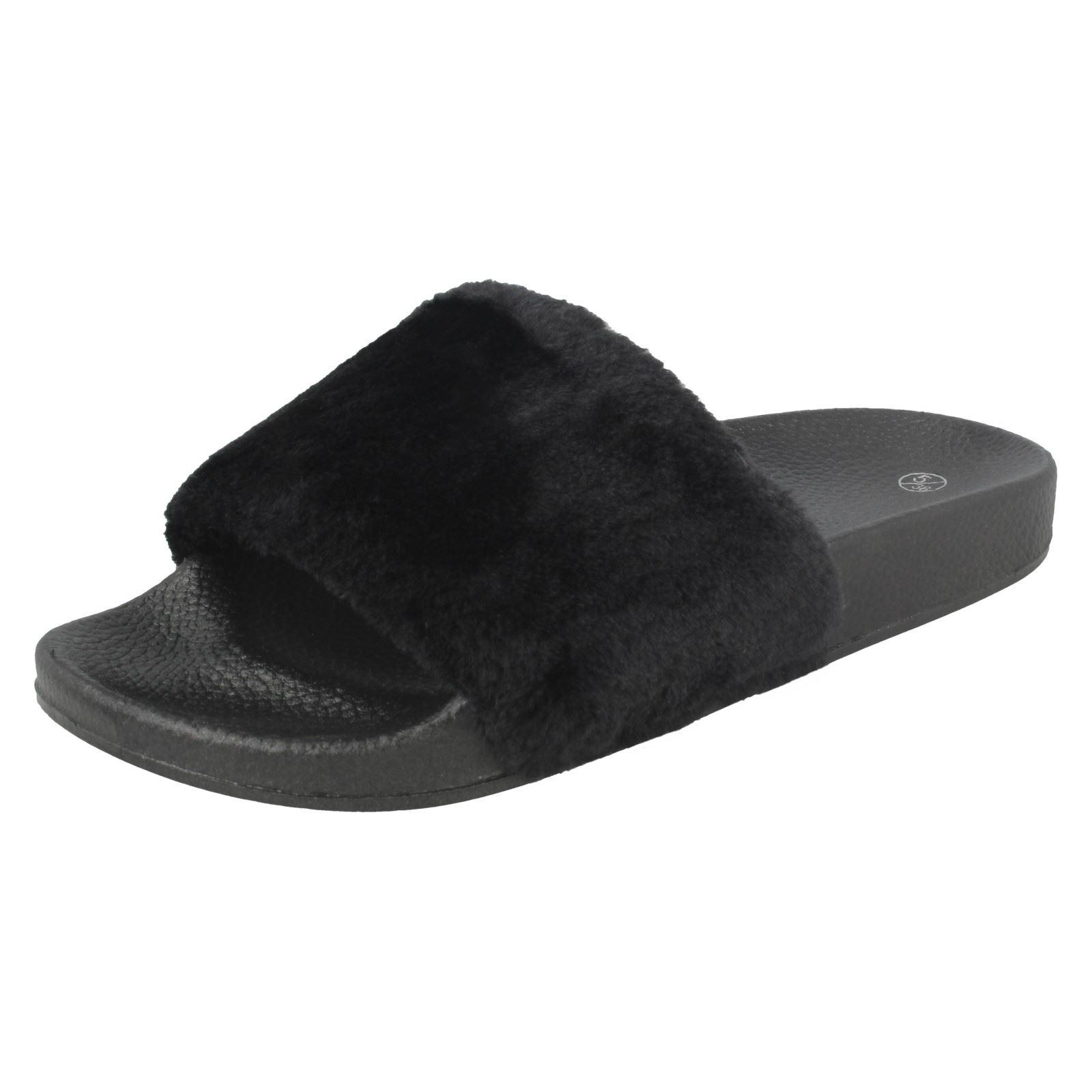 Damas Spot on furia Slip-On Sandalias