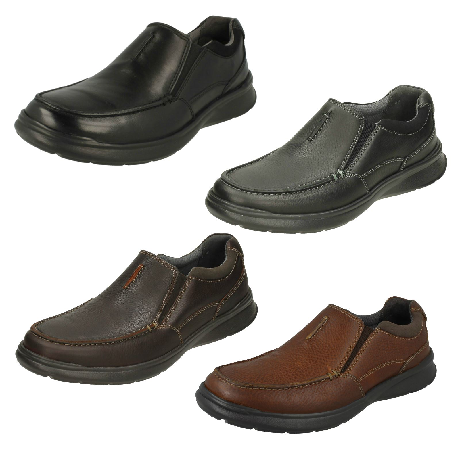Mens Clarks Casual Shoes 'Cotrell Free