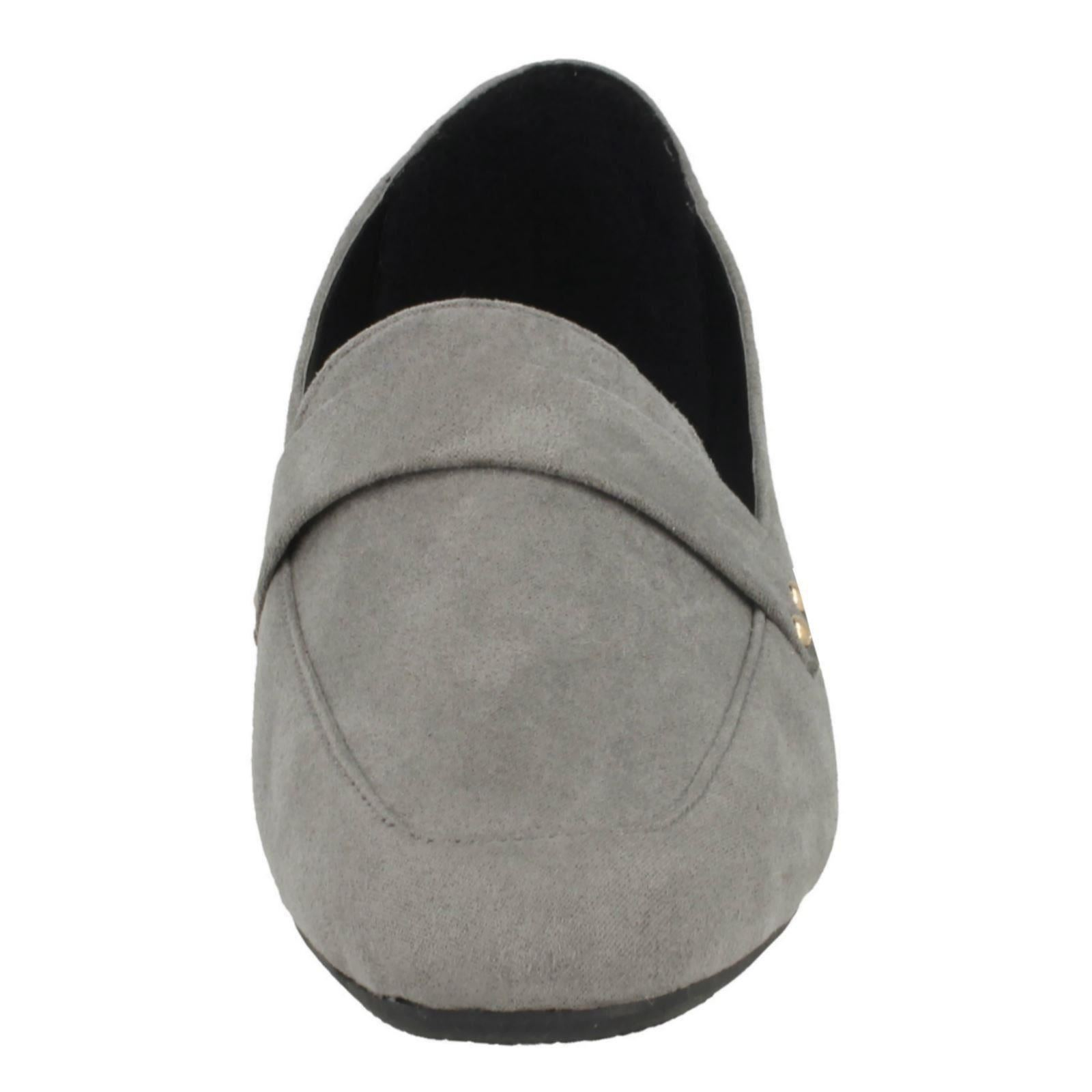 Damas Spot on Mocasín Zapatos Adorno De Silla De Montar Microfibra