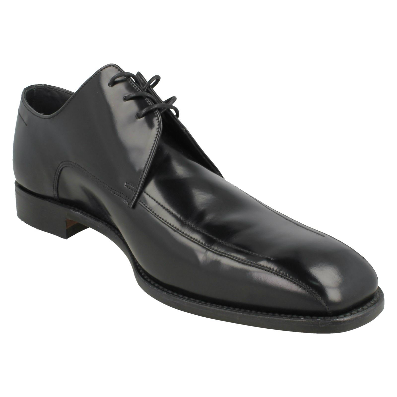 Mens Loake Oxford Comfortable Polished Leather Leather Leather Formal schuhe McQueen 0d35eb