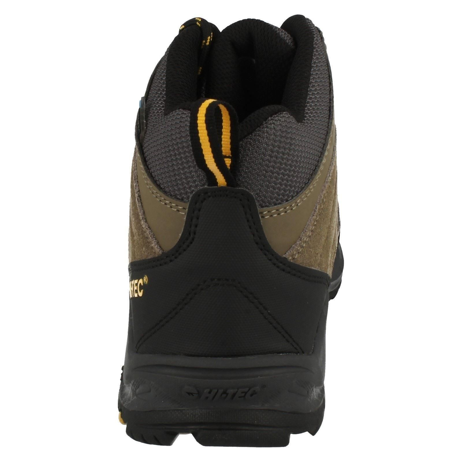 Para Hombre Botas Para Caminar Impermeable Hi-Tec Idaho WP