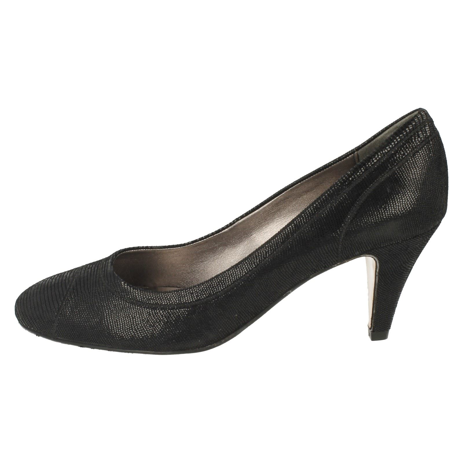 Ladies Van Dal Heeled Shoes Regina