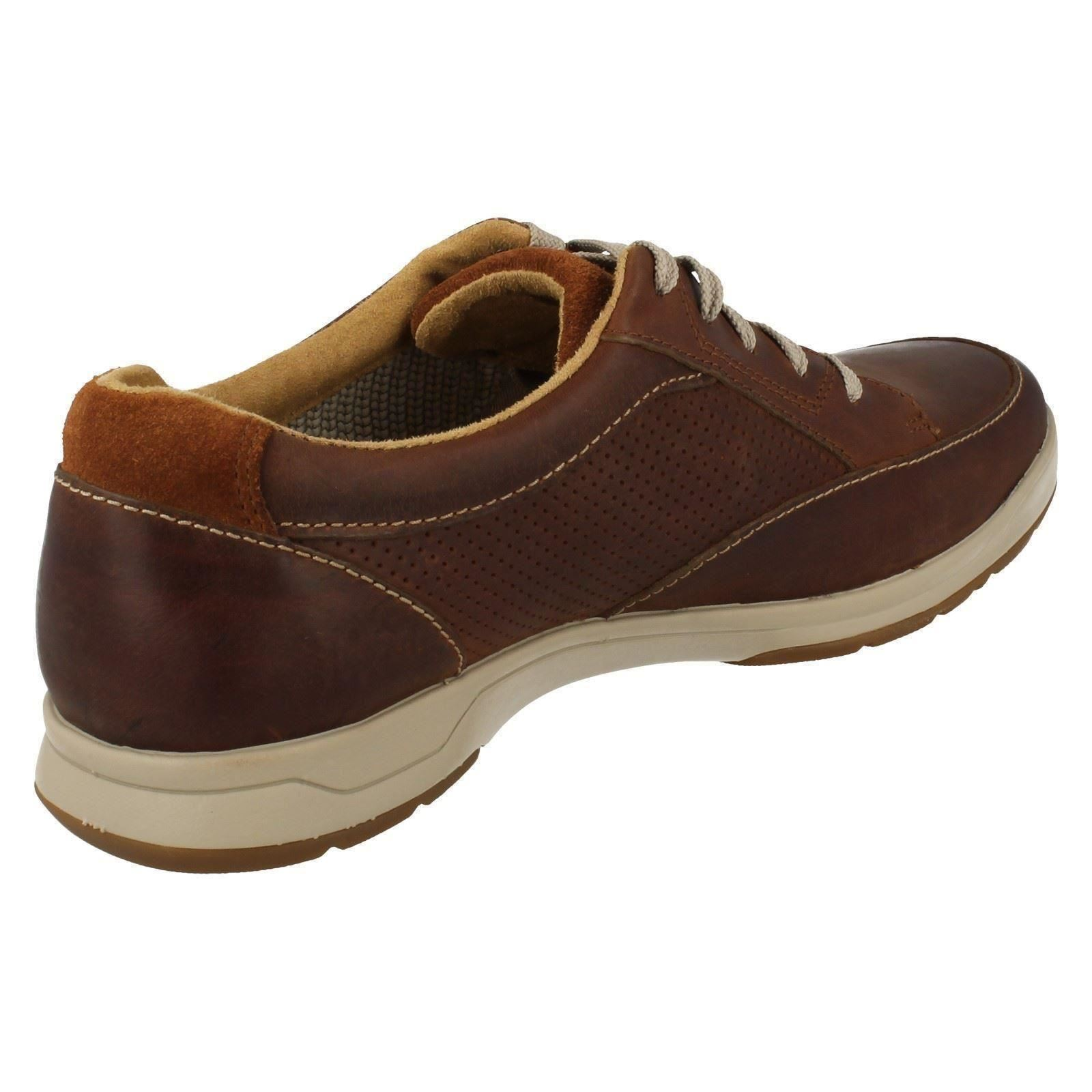 Mens Clarks Casual Lace Park Up Shoes Stafford Park Lace 5 840cce