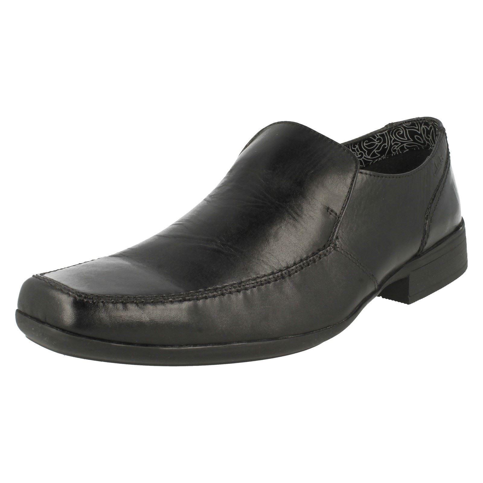 Mens Clarks Smart Slip On Smart Clarks Shoes Aze Night 644d47