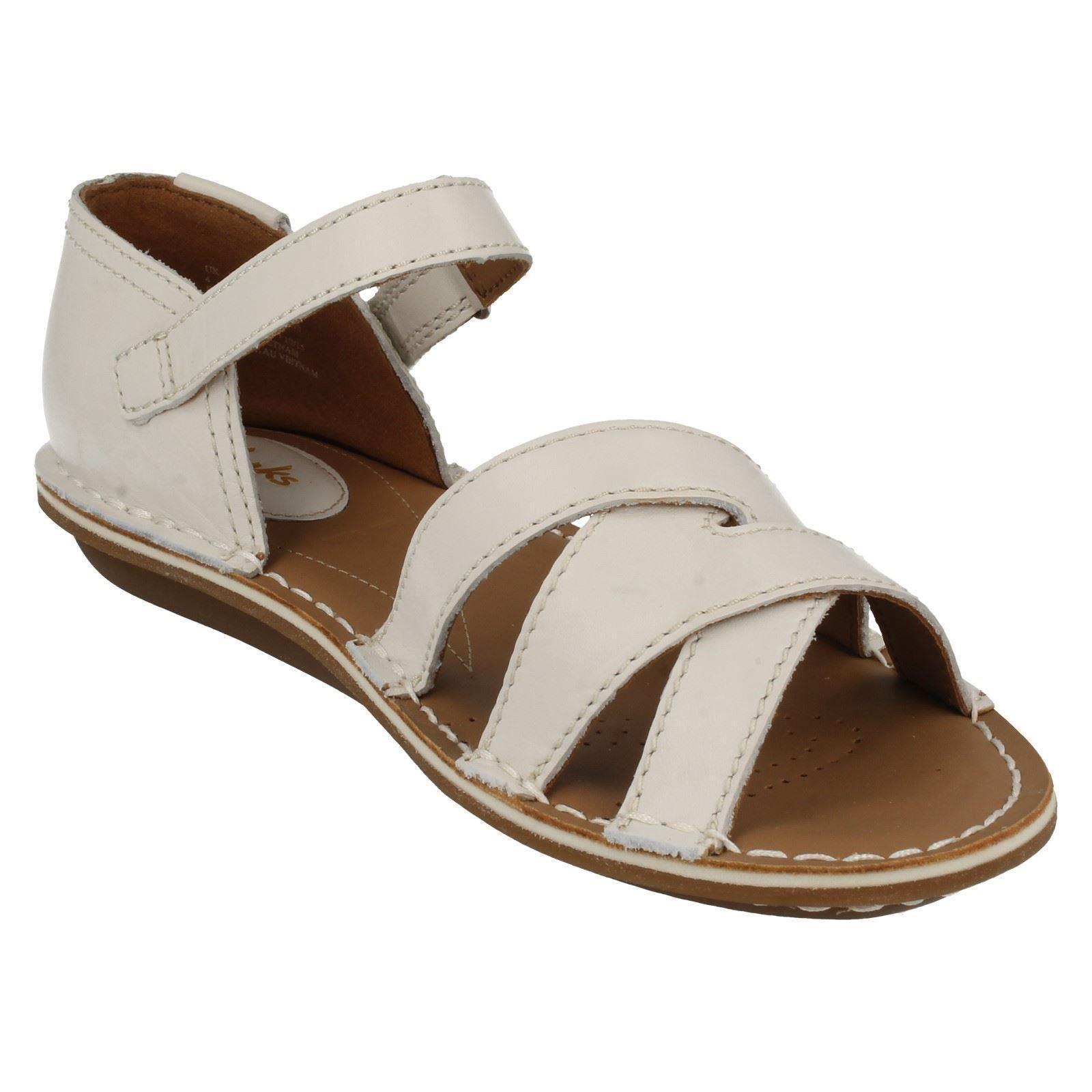 ebac08bc3b58 Ladies Clarks Tustin Sahara Leather Casual Sandals E Fitting UK 4 ...