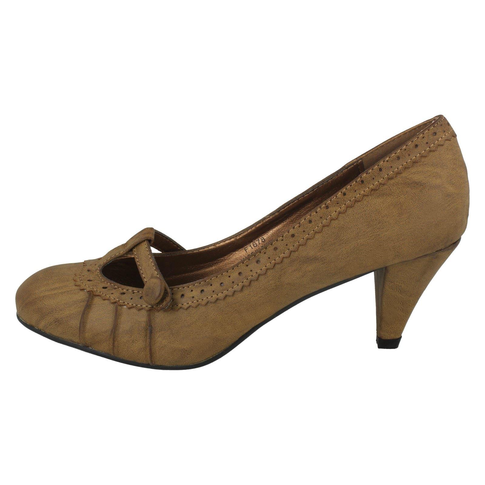 Spot on Damas Tribunal Zapatos