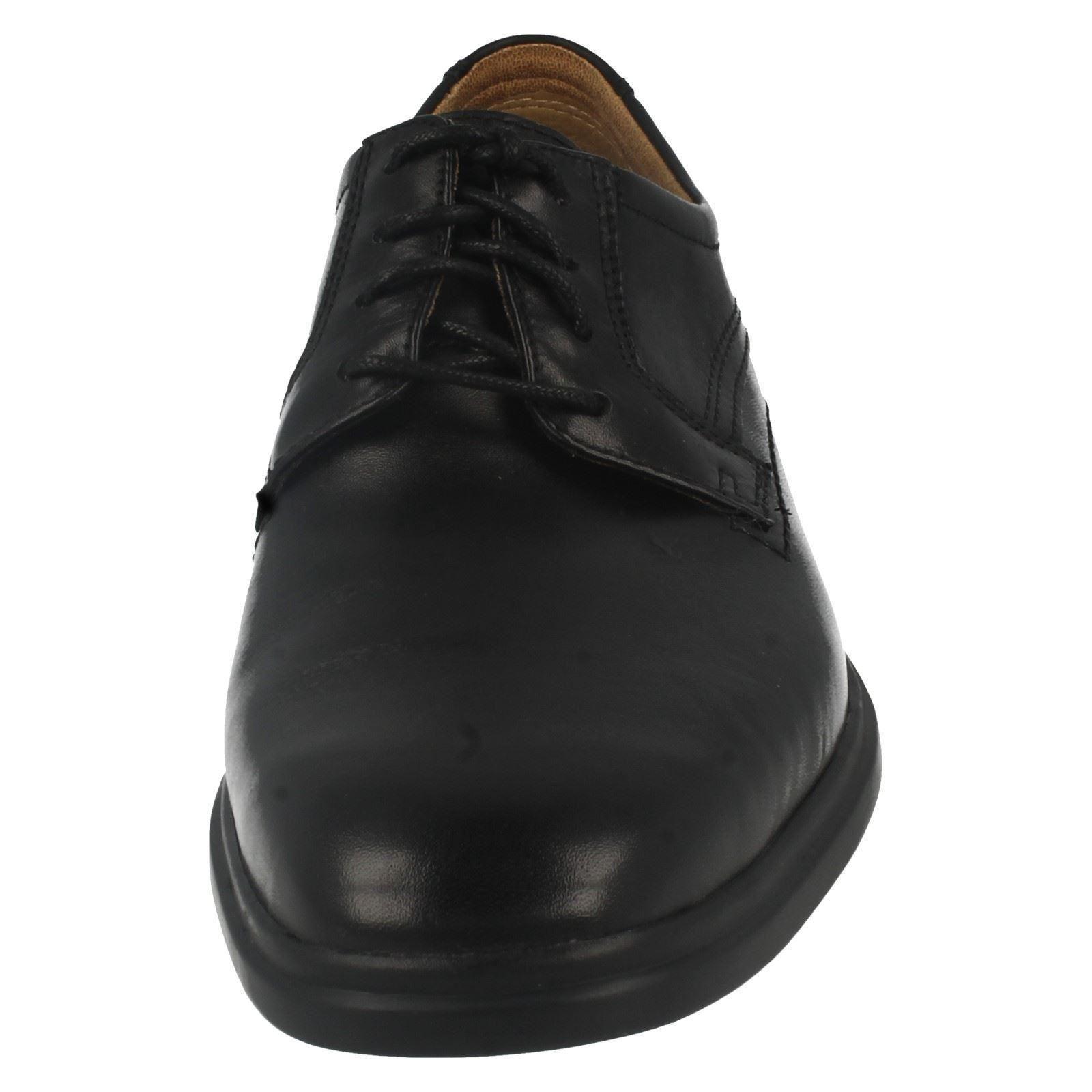 negro Glevo cordones formales Walk para hombre zapatos con Clarks w8CTT4