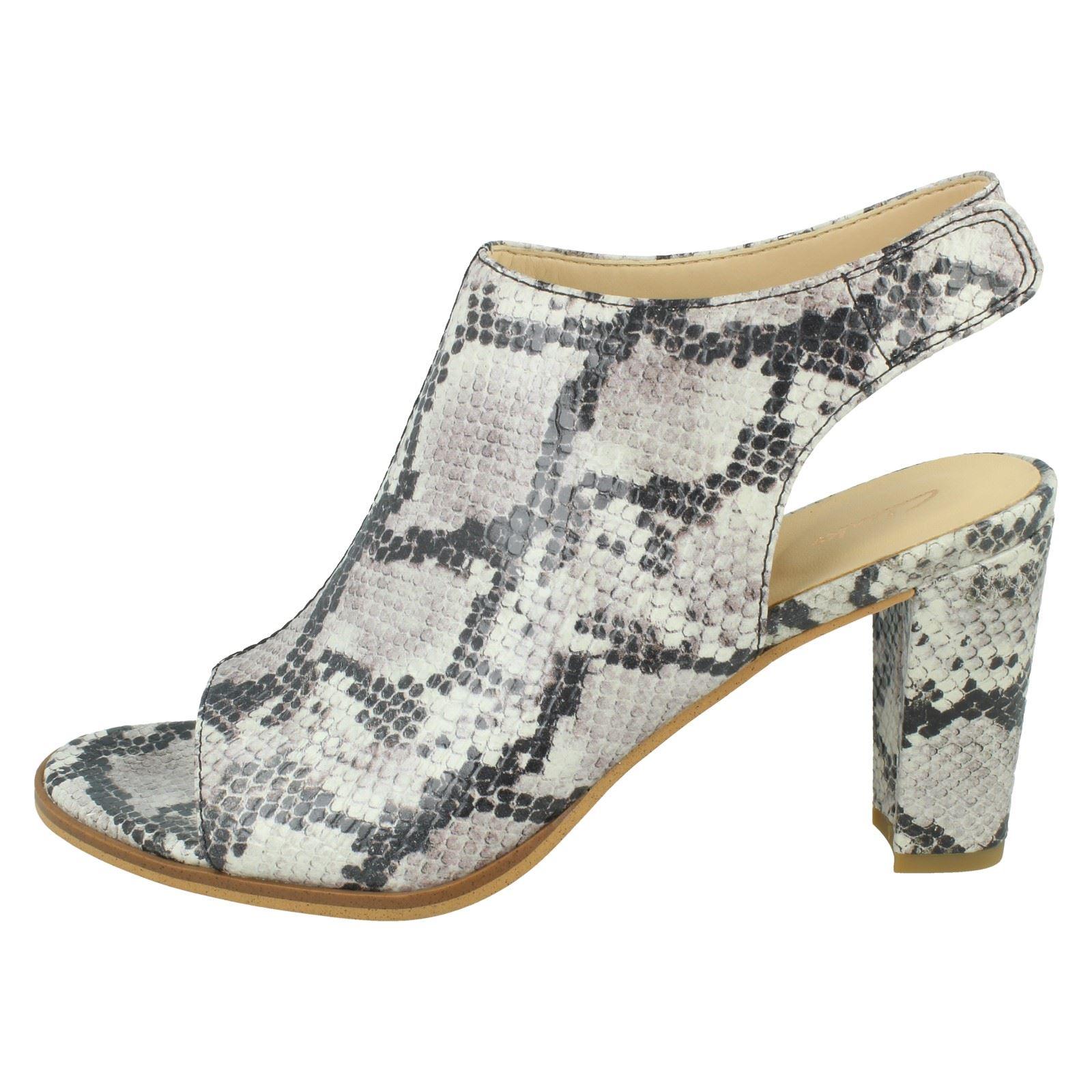 Feudal Vacaciones doble  Zapatos de tacón Damas Clarks Kaylin 85 Honda Peep Toe Tacones Ropa,  calzado y complementos aniversarioqroo.cozumel.gob.mx