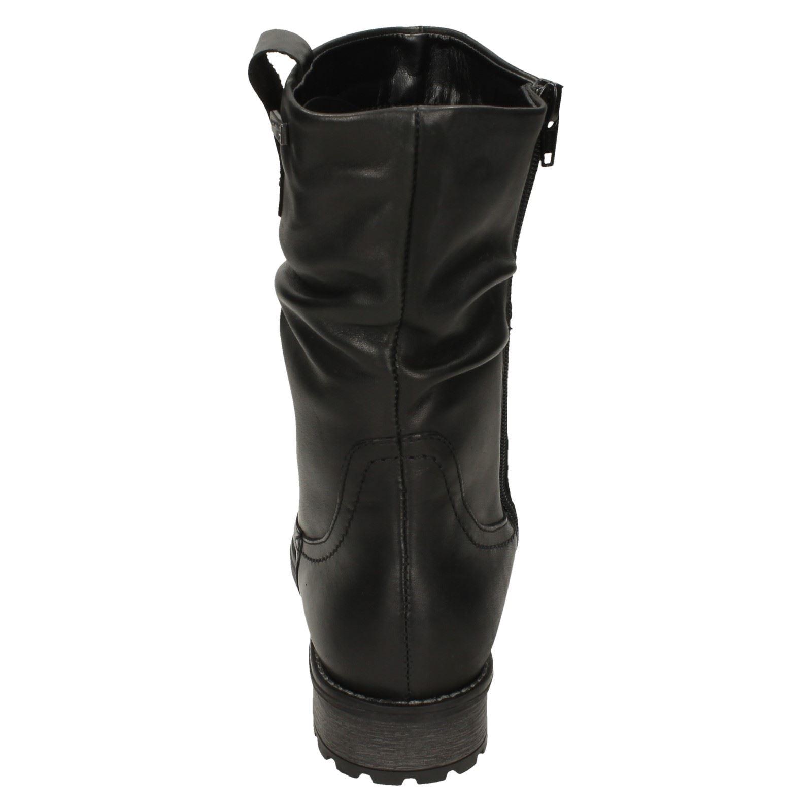 Noir Casual Remonte Dames R3367 Bottes Ax1InqHwC