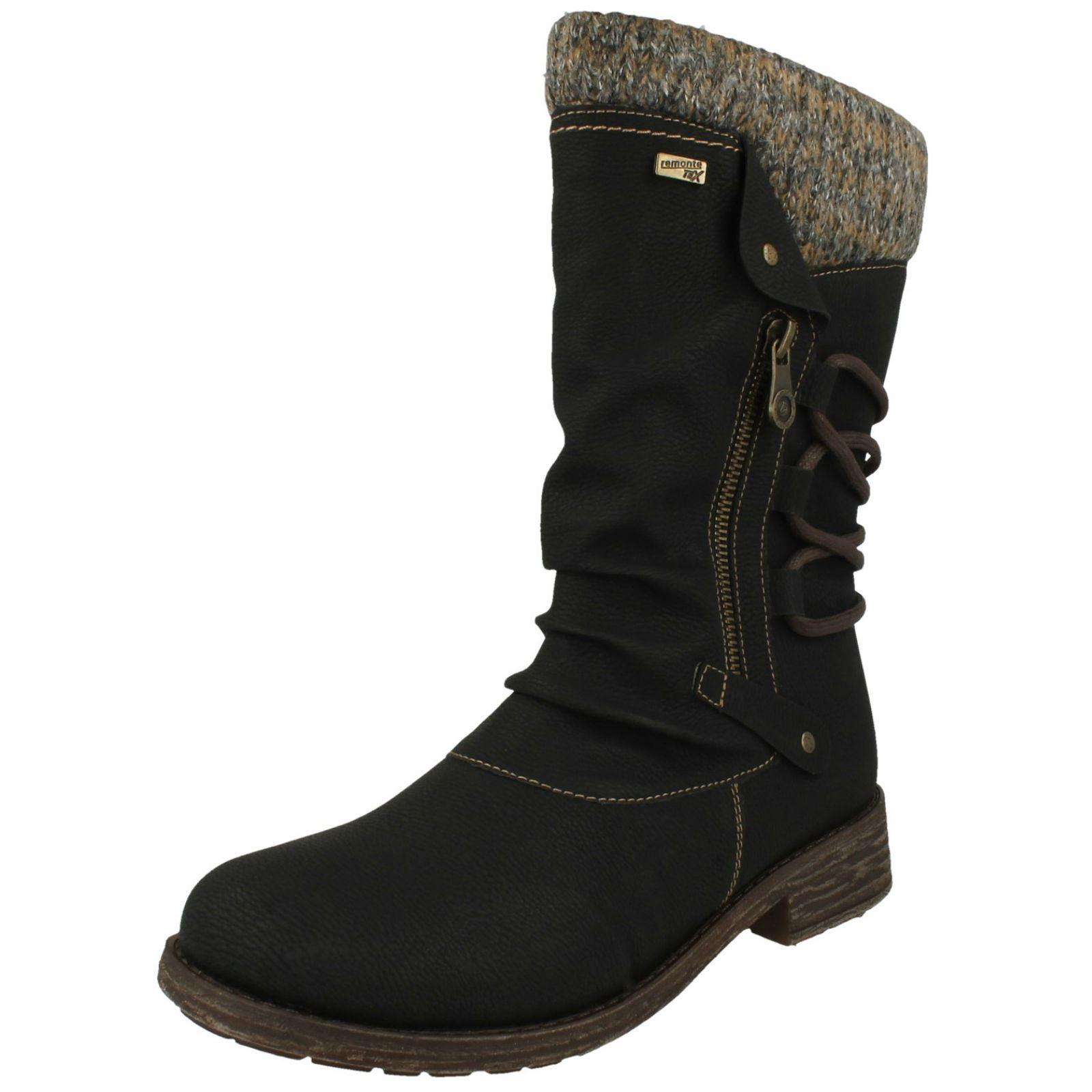 Stiefel Gefüttert D8070 Damen Remonte Tex Remonte Tex Warm
