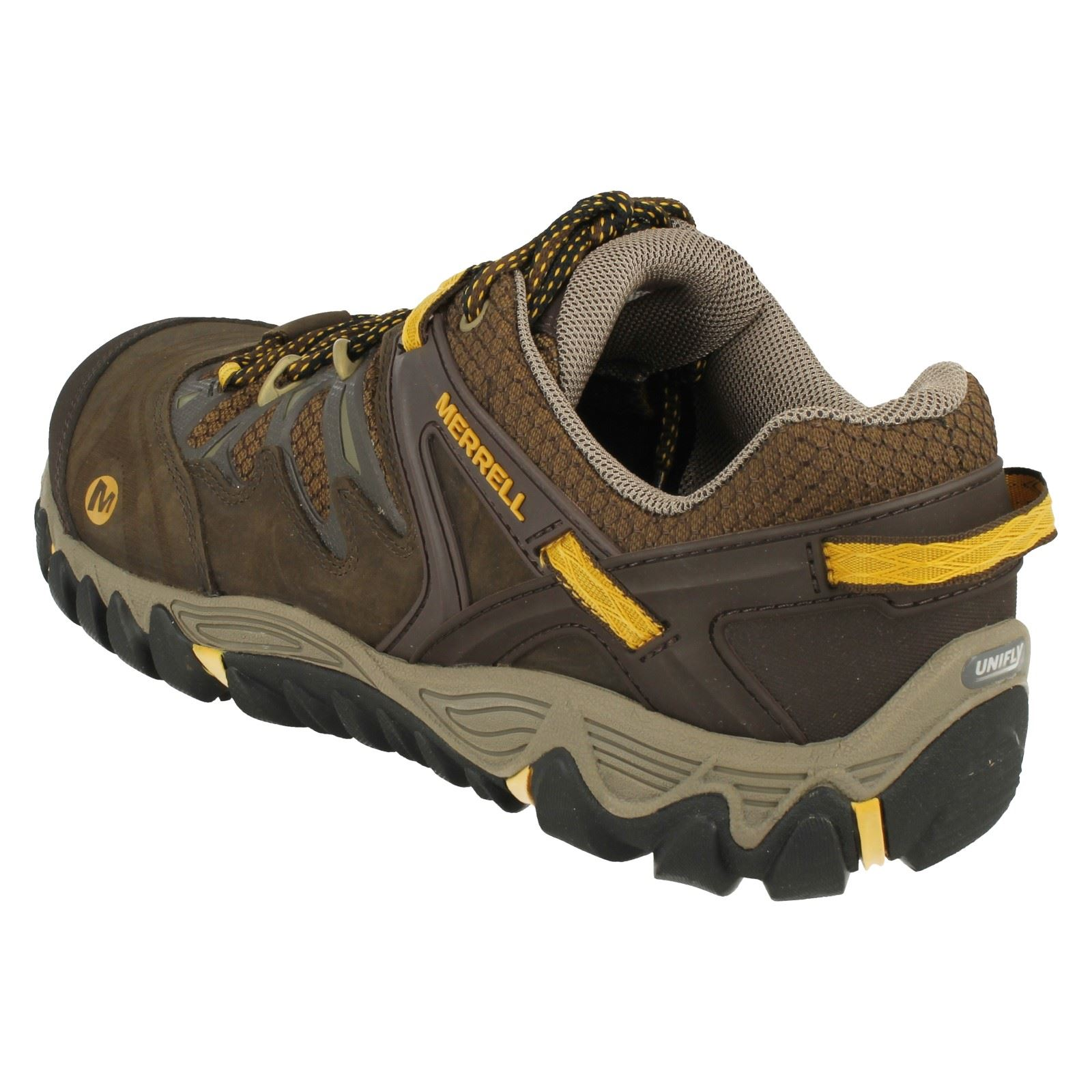 Allout Slate Shoes black Casual Black Mens Blaze Merrell J24305 yellow Walking trainers 7XSSwH