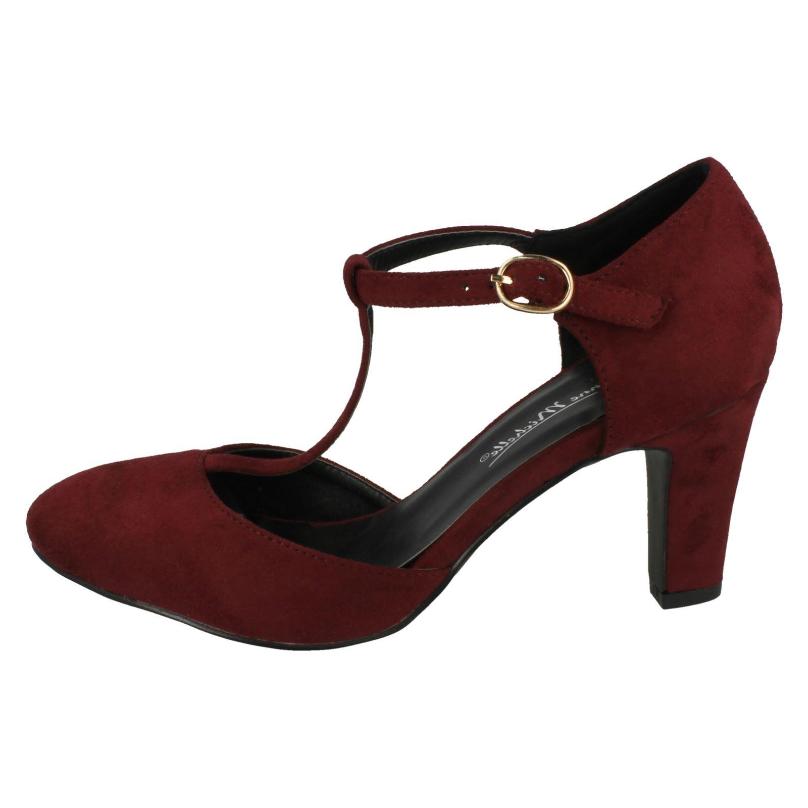 Ladies-Anne-Michelle-T-Bar-Smart-Shoes thumbnail 30