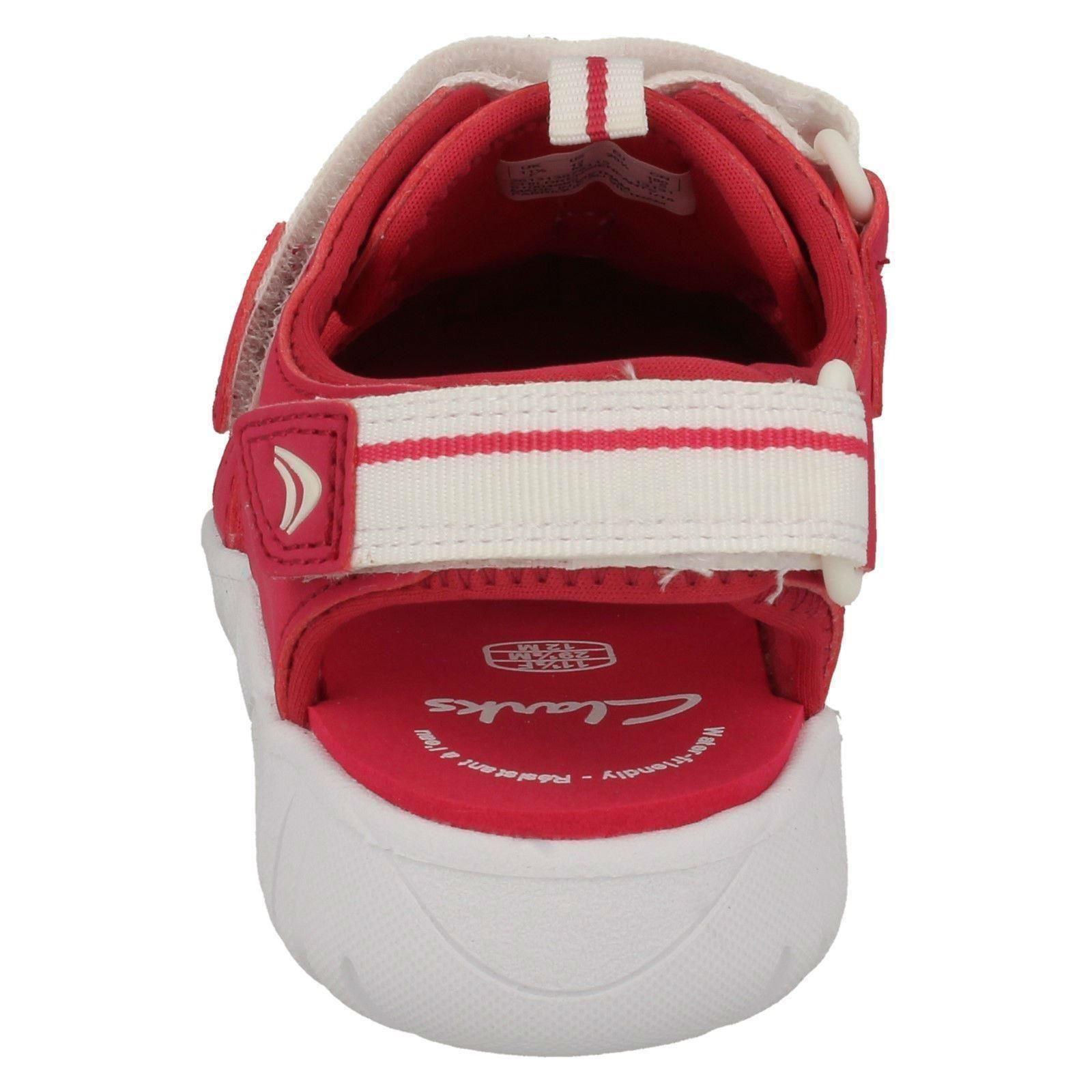 Sandals rosa Frambuesa Trainer Beach Clarks Niñas Rapid Casual 1SgqRT1wO