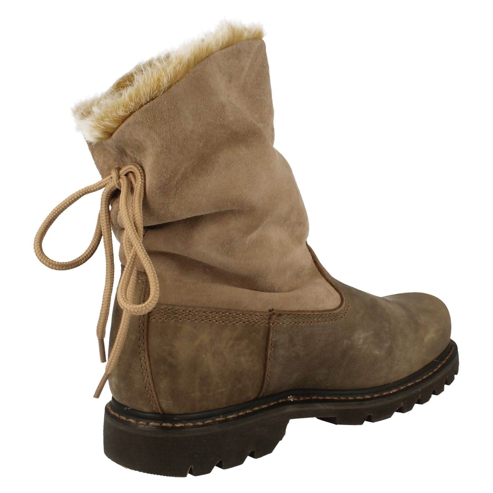 Ladies Ankle Details About Scrunch' Caterpillar Boots 'bruiser 5ASjc3R4Lq