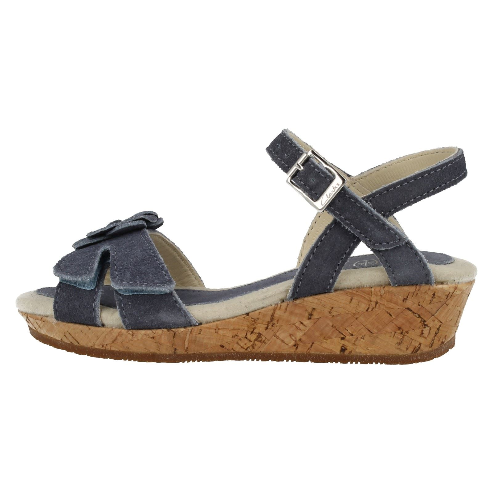 Clarks Girls Wedge Sandals Harpy Wings