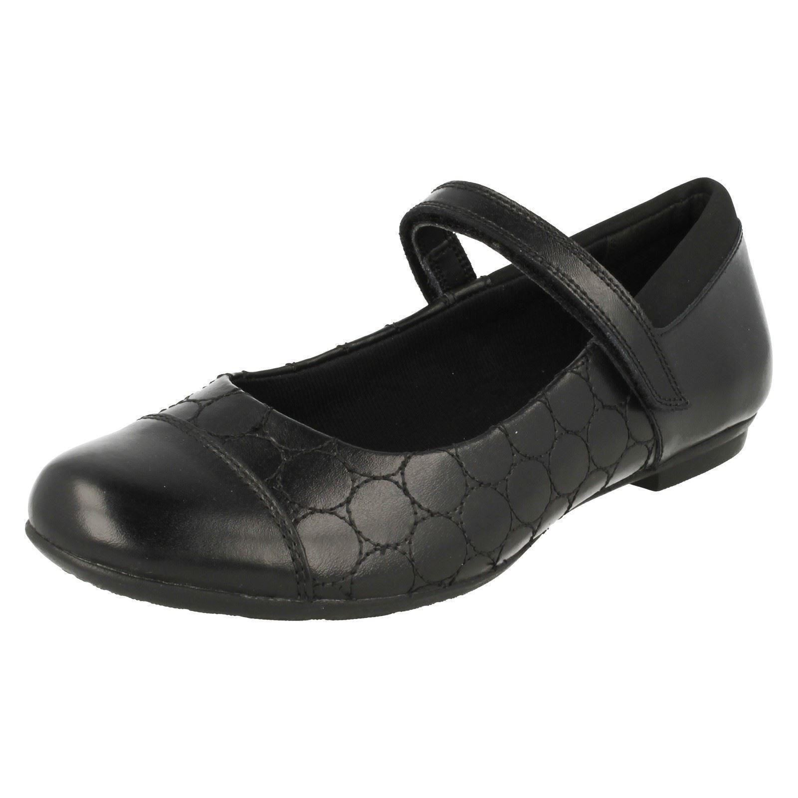 Girls Bootleg by Clarks Smart//Formal School Shoes *Tizz Whizz*