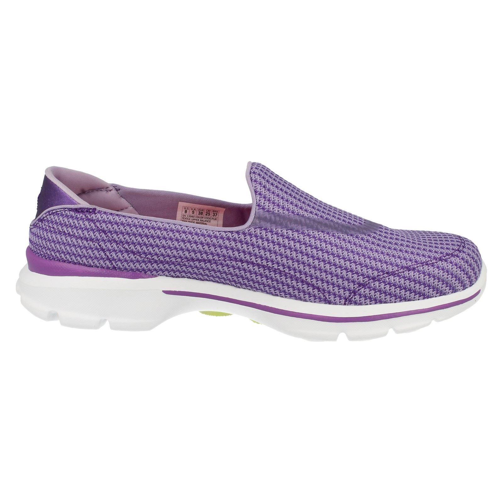 Ladies Ladies Ladies Skechers GoGa Mat Casual Slip On Textile Pumps Go Walk 3 13980 eeffa5