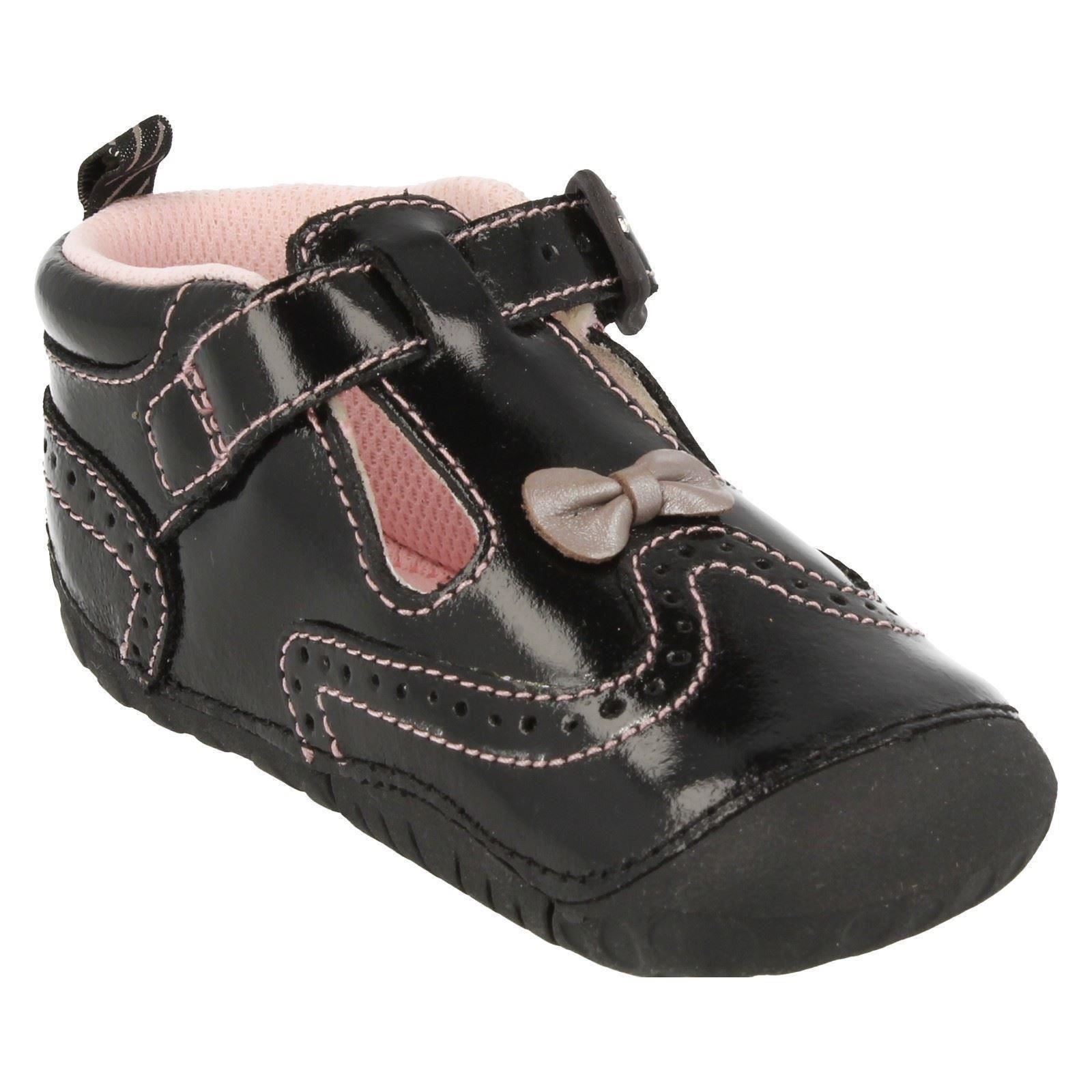 Girls Startrite Casual Pre Walker T Bar Shoes May
