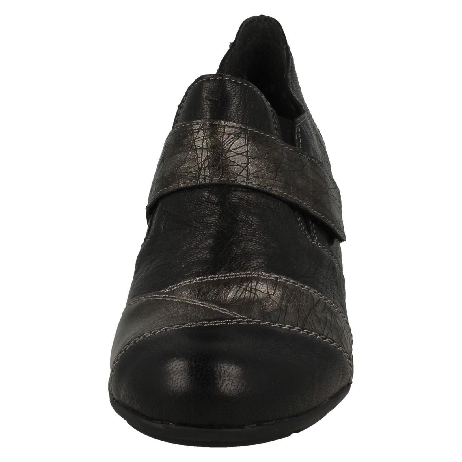 Bottines enfiler Remonte noir à R7501 pour femmes P7PrU1qw